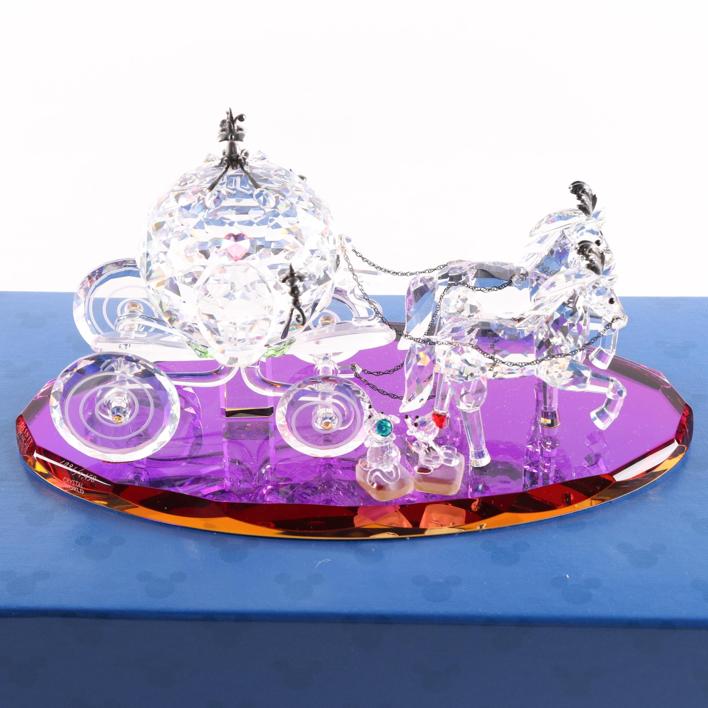 "Disney Showcase Collection ""Cinderella's Coach"" Crystal Figurine"