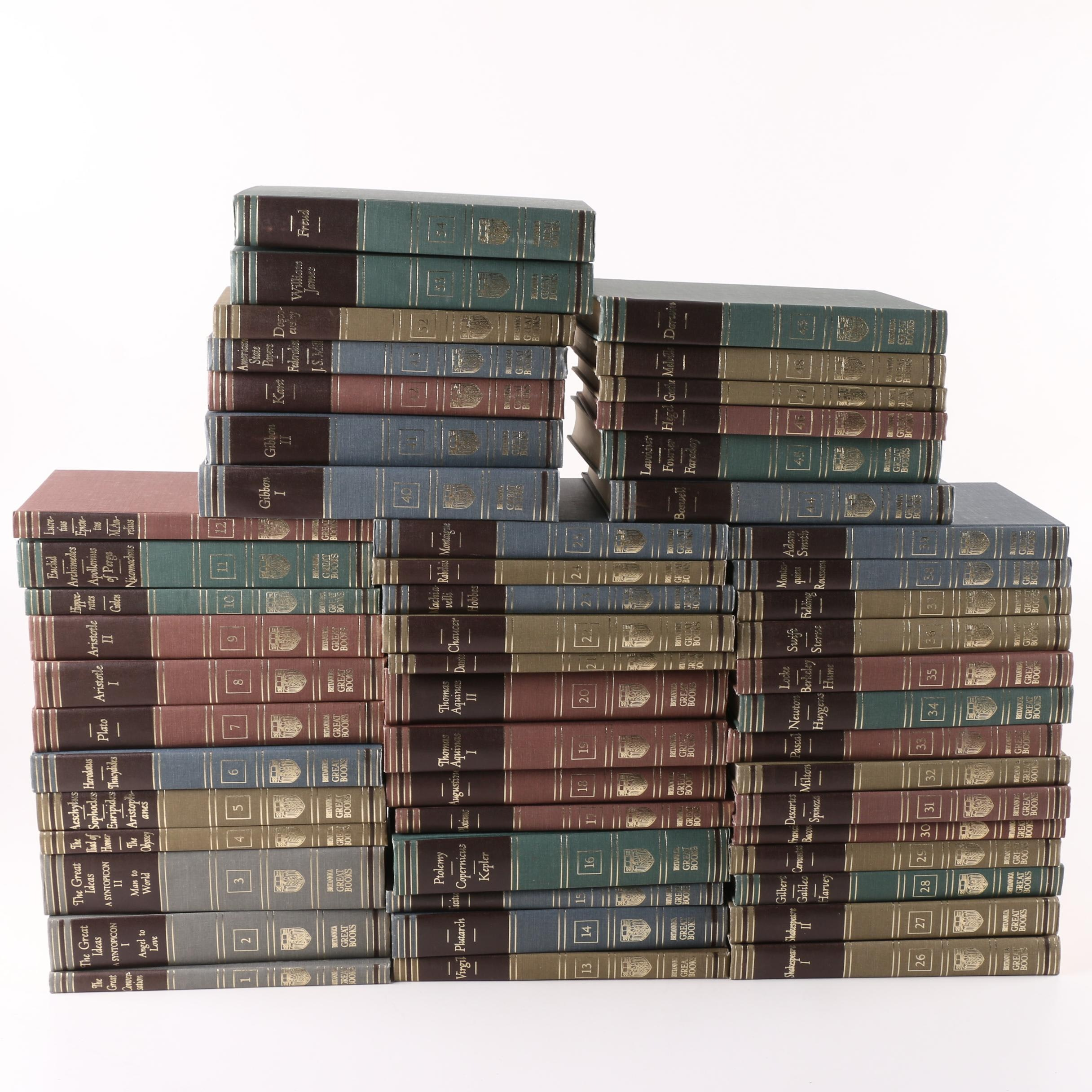"Britannica's ""Great Books of the Western World"" in Fifty-Two Volumes"
