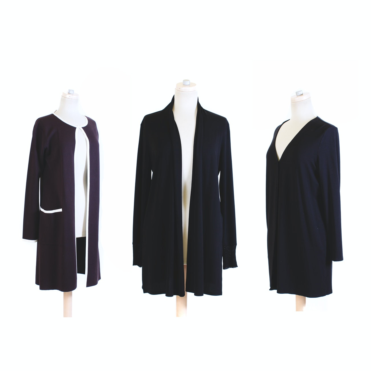 J. Jill, Max Mara and Eileen Fisher Cardigans and Jacket