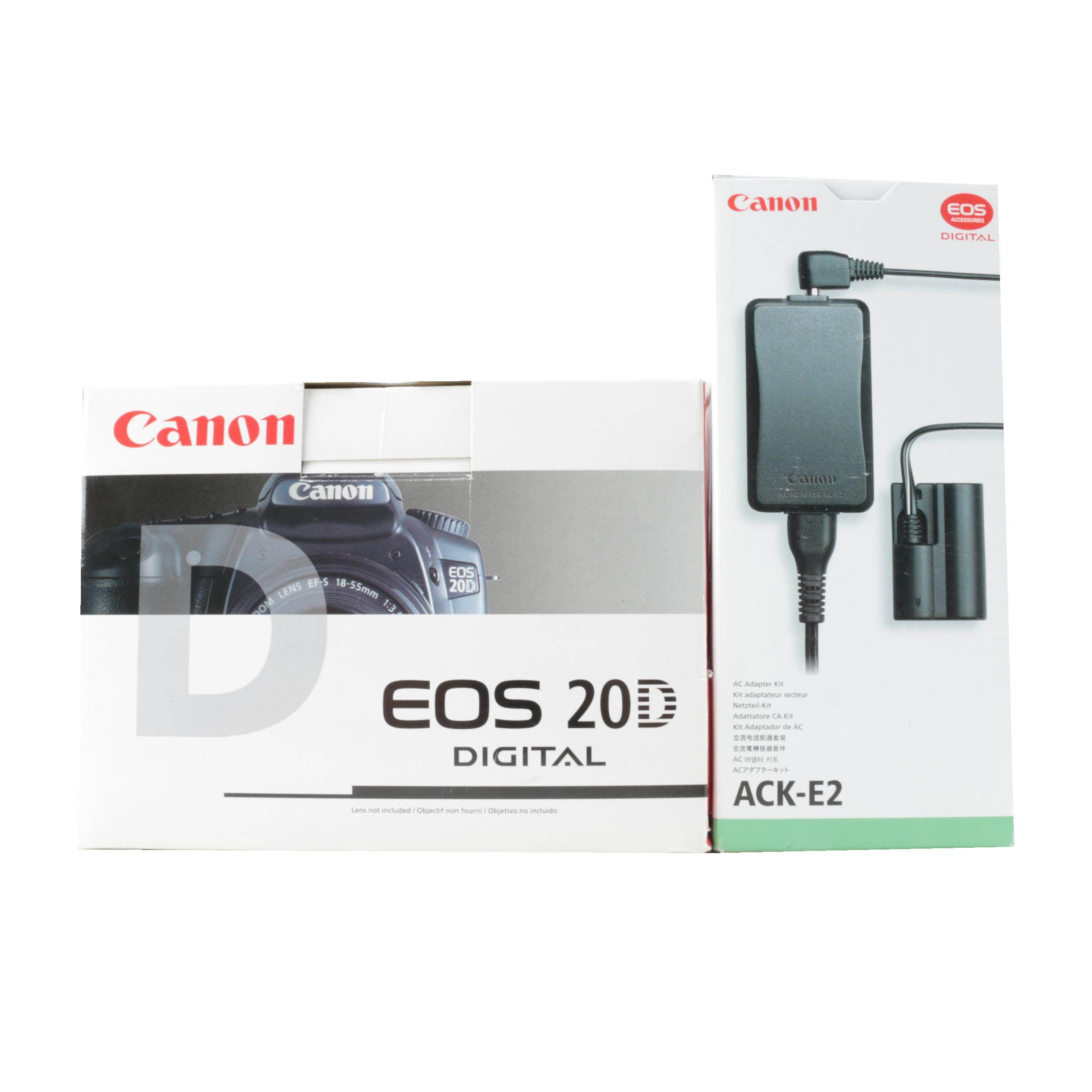 Canon EOS 20D Digital with Charger
