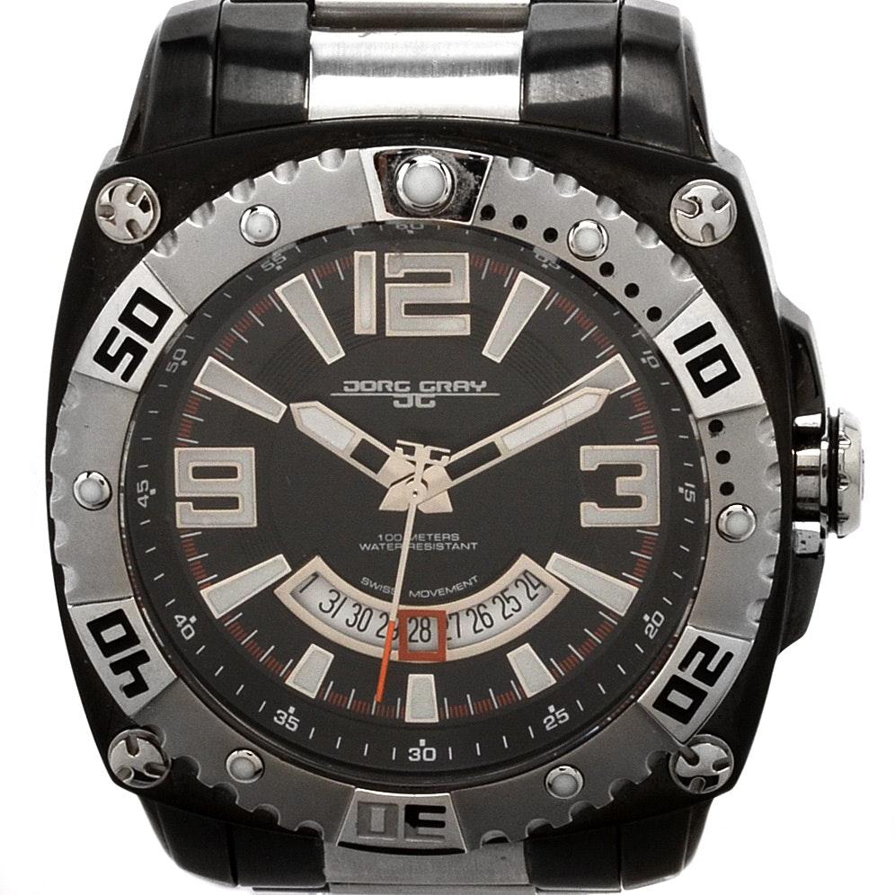 Jorg Gray JG9800-23 Two-Tone Wristwatch