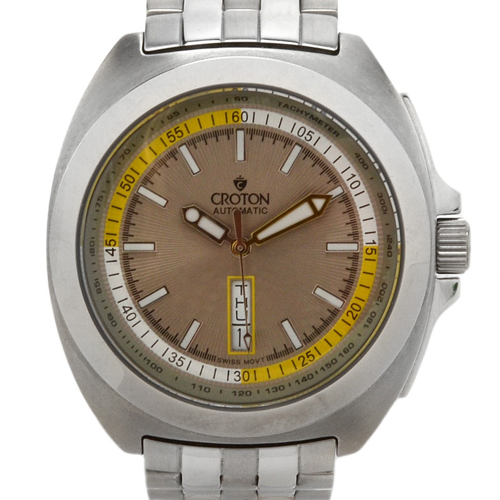 Croton Automatic Wristwatch With Day/Date Function
