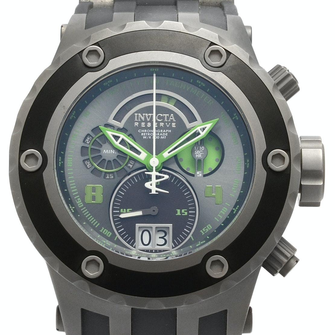 Invicta Reserve Sub Aqua Chronograph Wristwatch