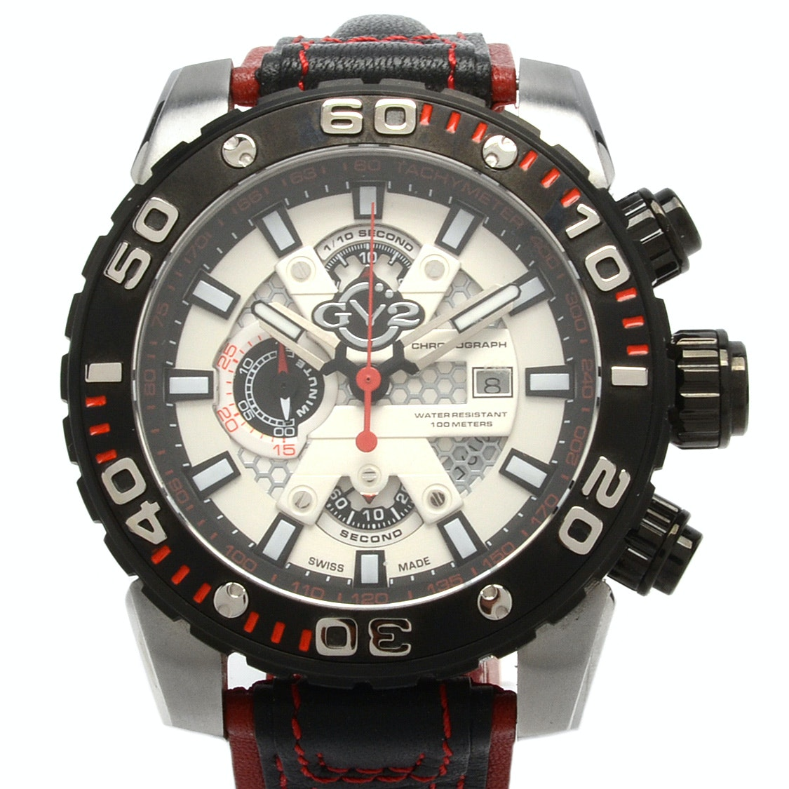 GV2 by Gevril Limited Edition Swiss Chronograph Model 1401