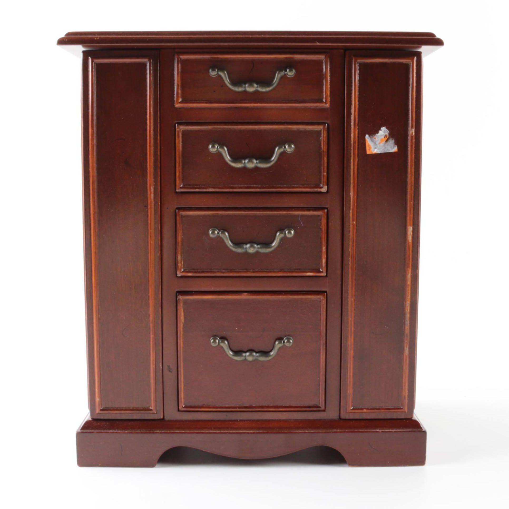 Bombay Company Wooden Jewelry Box