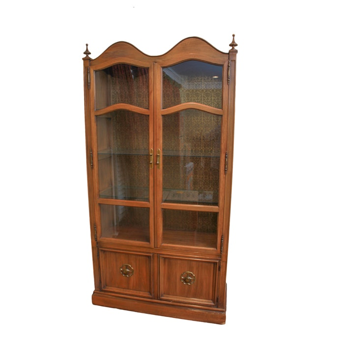 Mediterranean Style China Cabinet