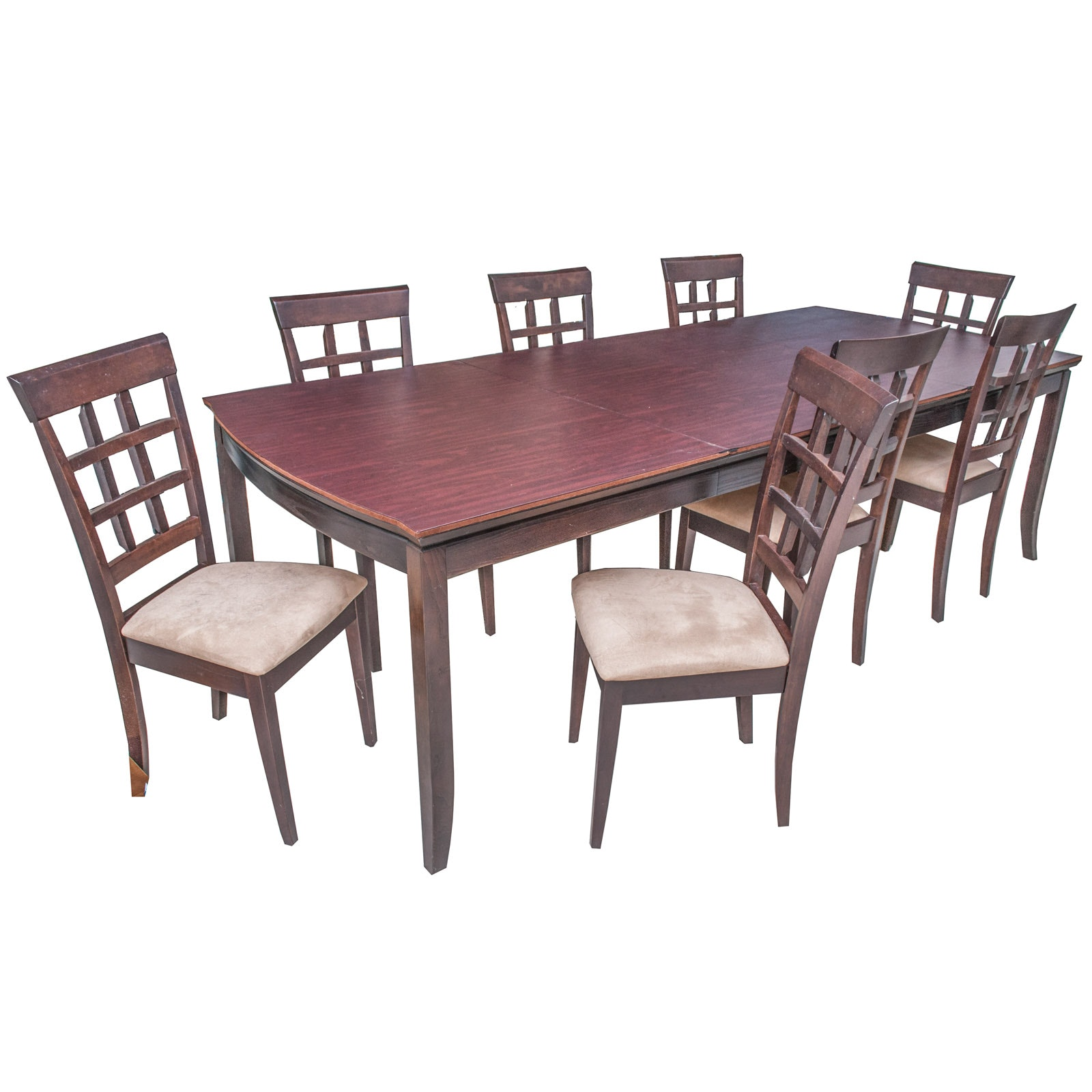 Stanley Furniture Mahogany Finished Dining Table and Chairs