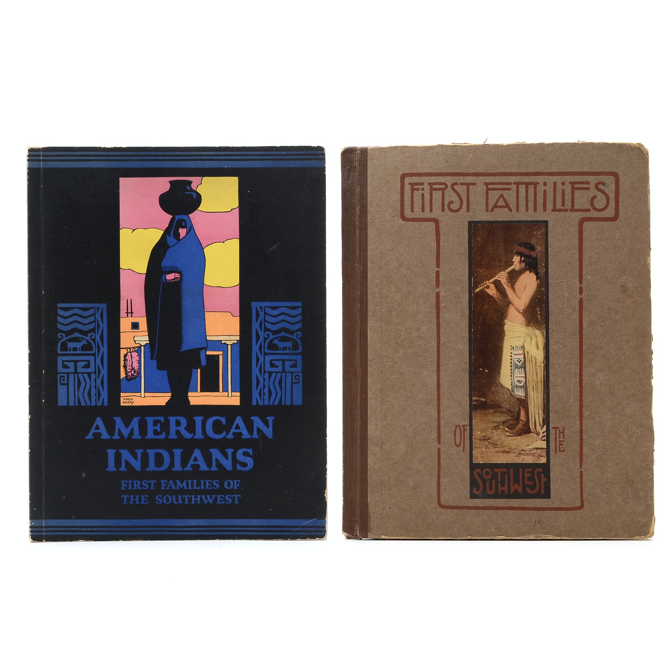 "1921 and 1926 Editions of ""First Families  of the Southwest"""