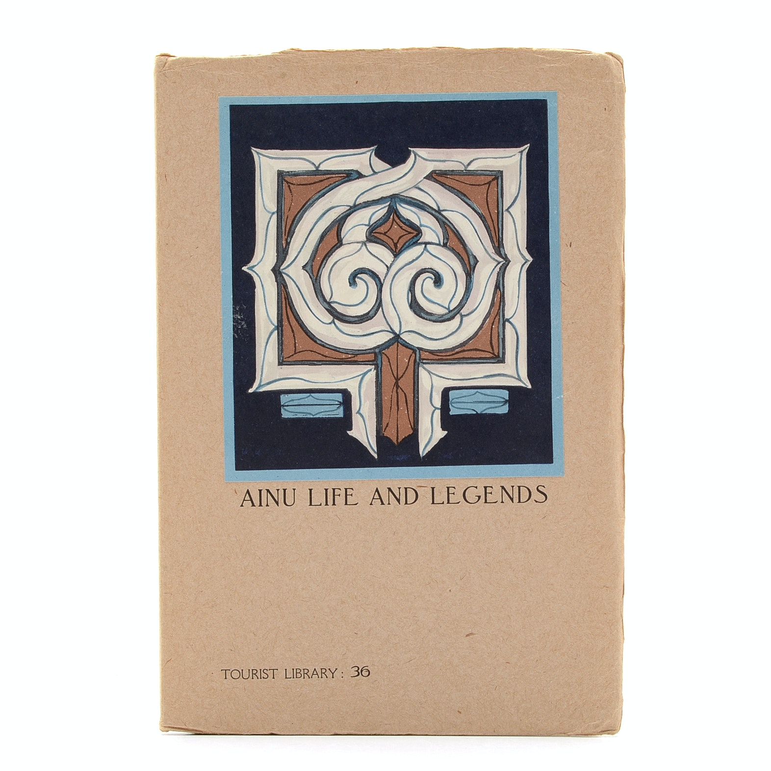 """Ainu Life and Legends"" 1941 Tourist Library Guide Book"