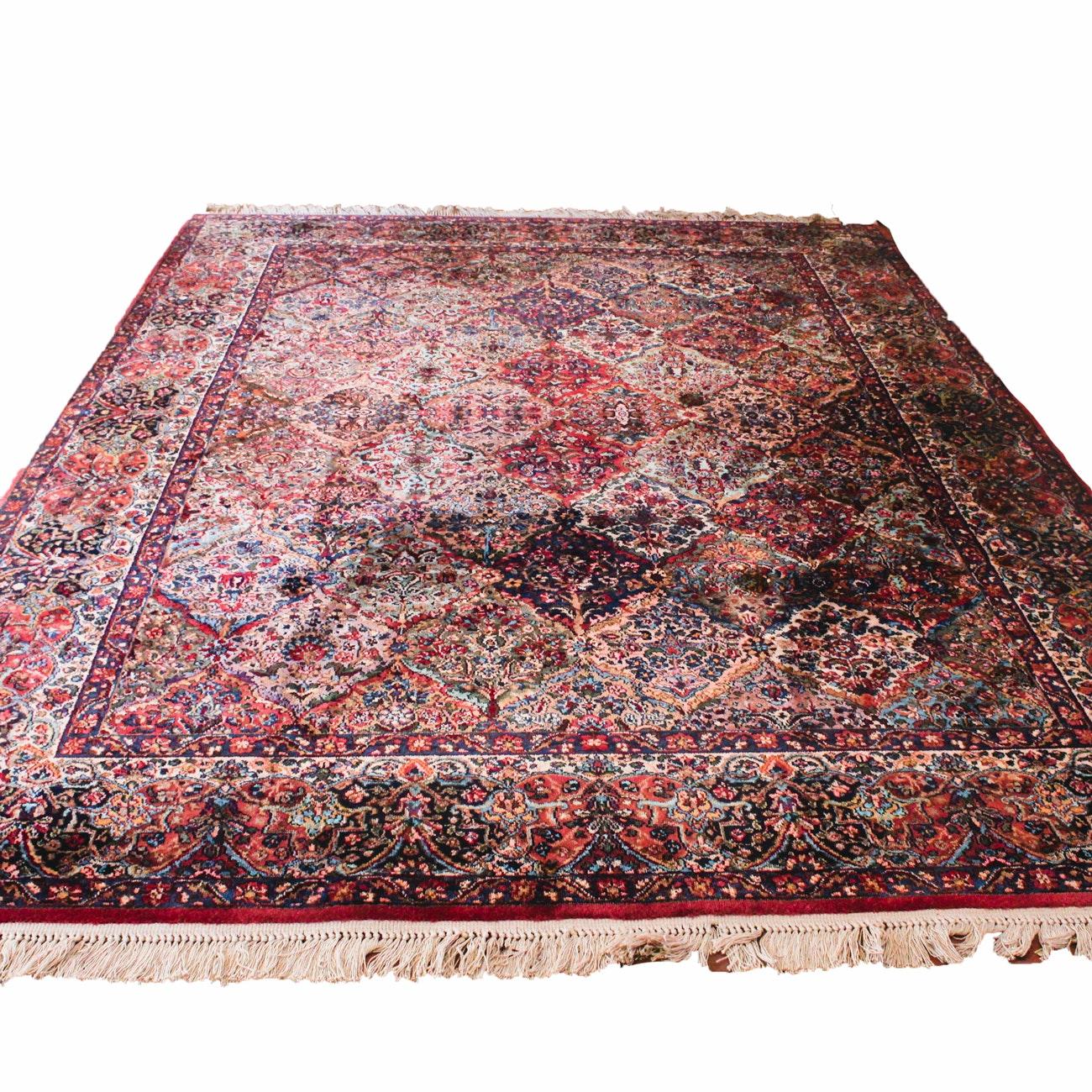 Large Machine-Made Wool Area Rug by Karastan