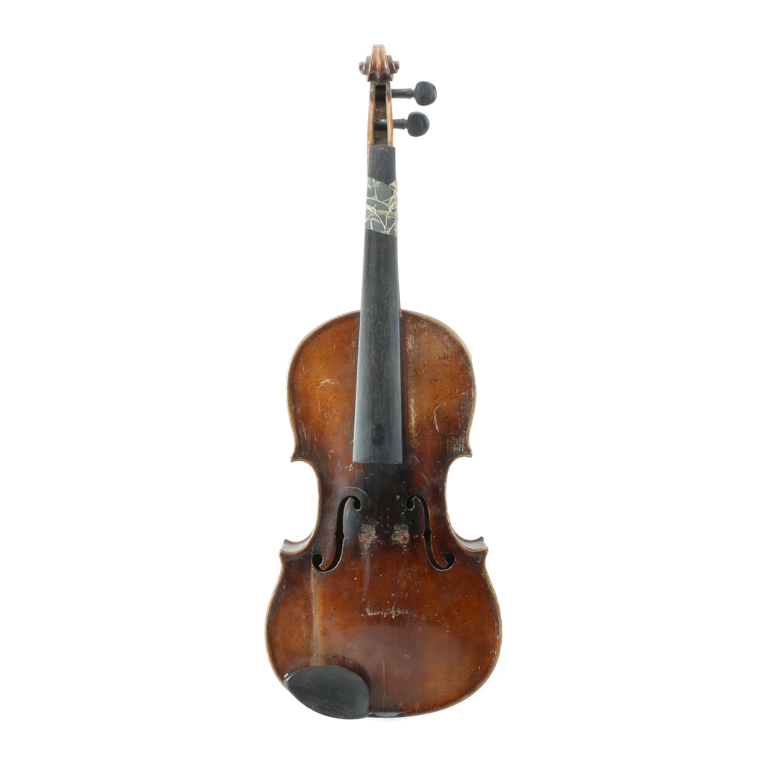 Vintage Violin After Nicola Amati