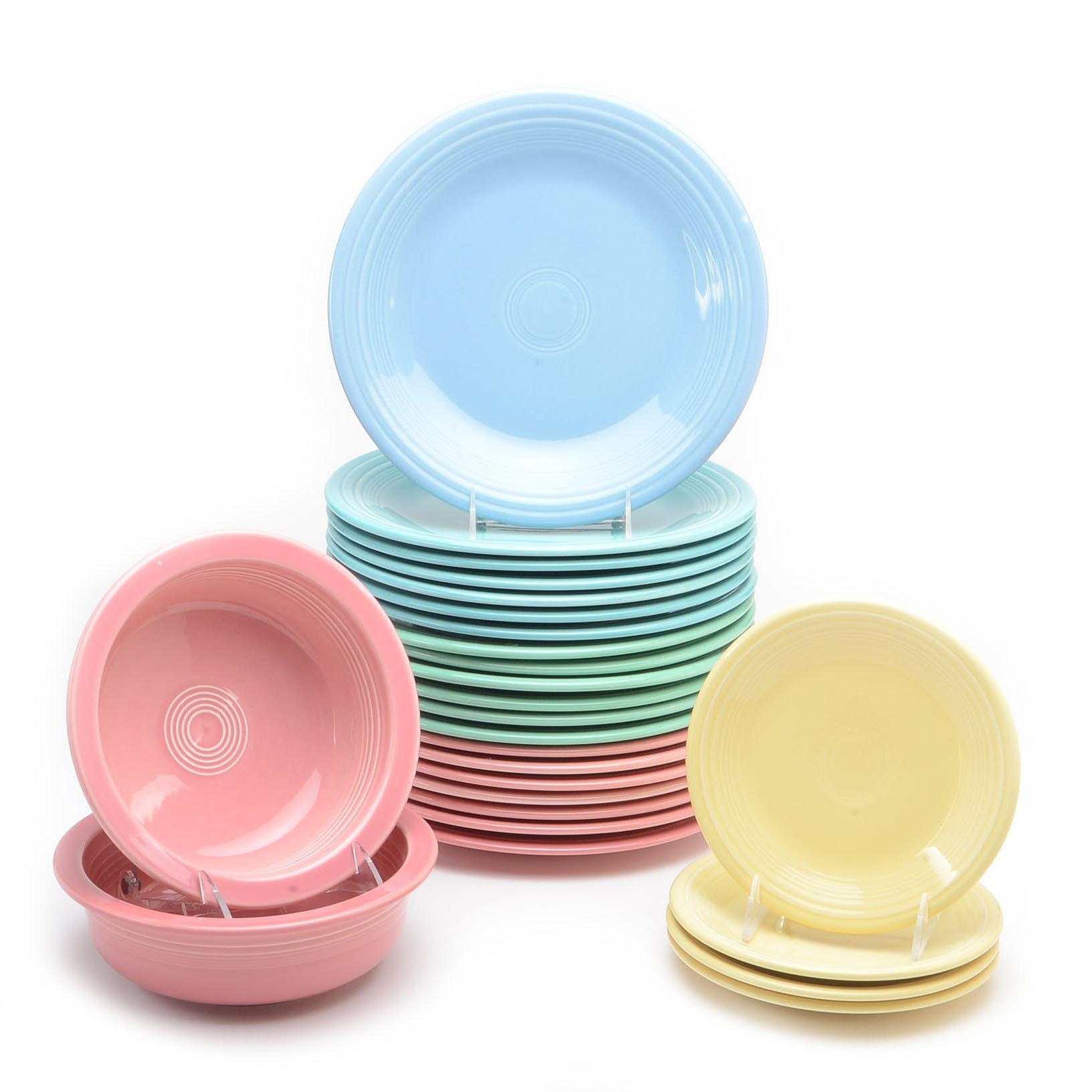 Twenty-Six Piece Collection of Fiestaware