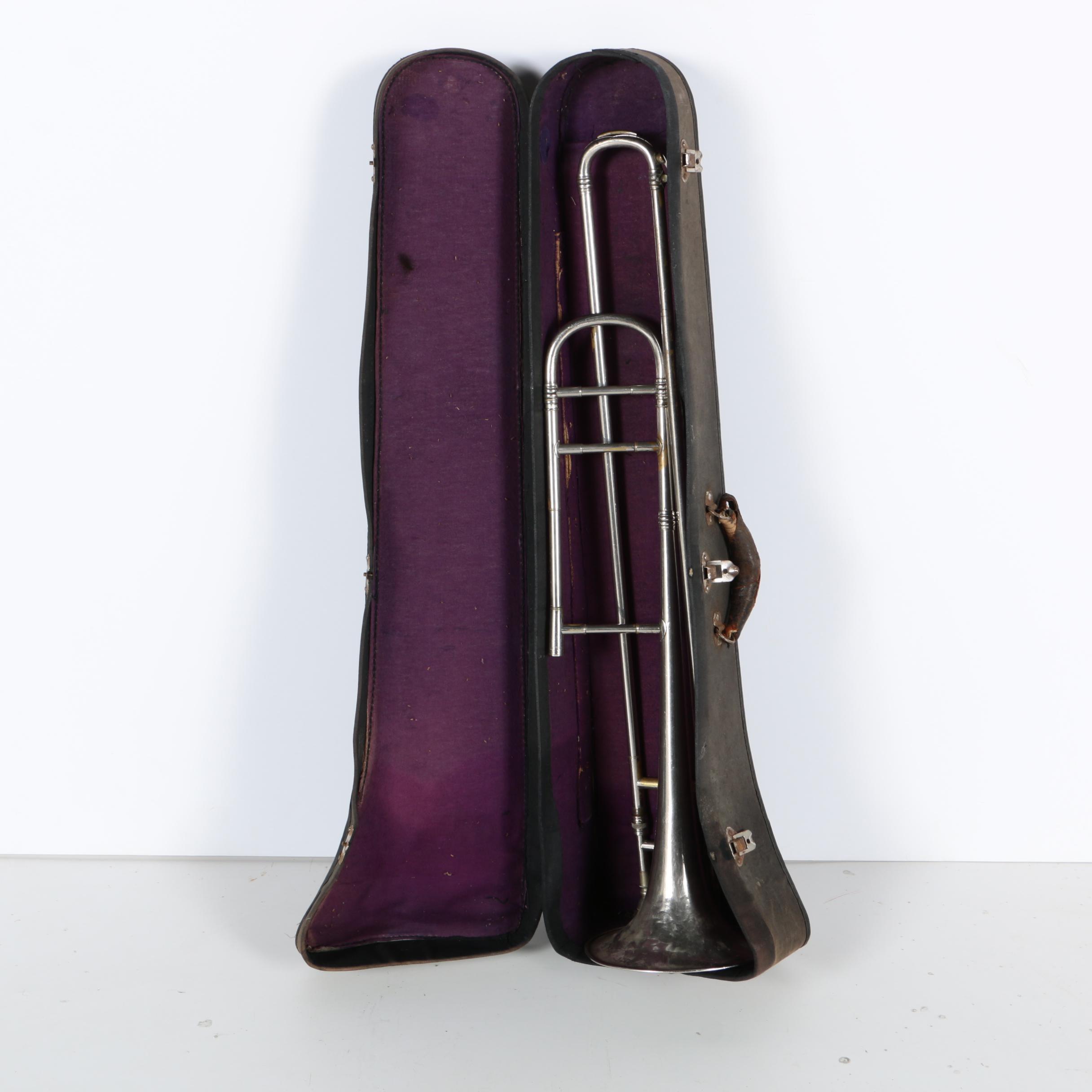 Vintage M. Dupont Trombone with Case