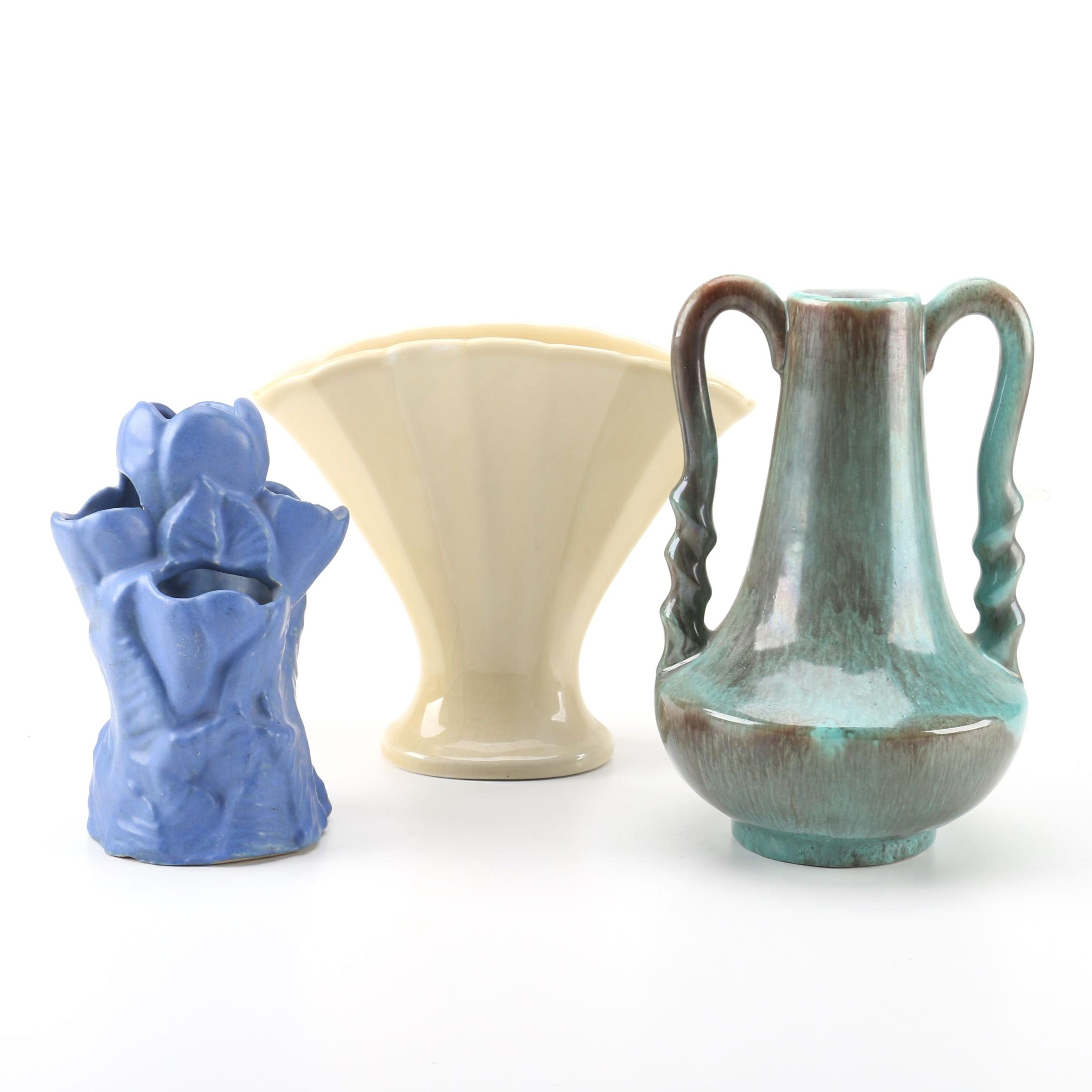 Pottery Vases Featuring Rookwood, Gonder and Niloak