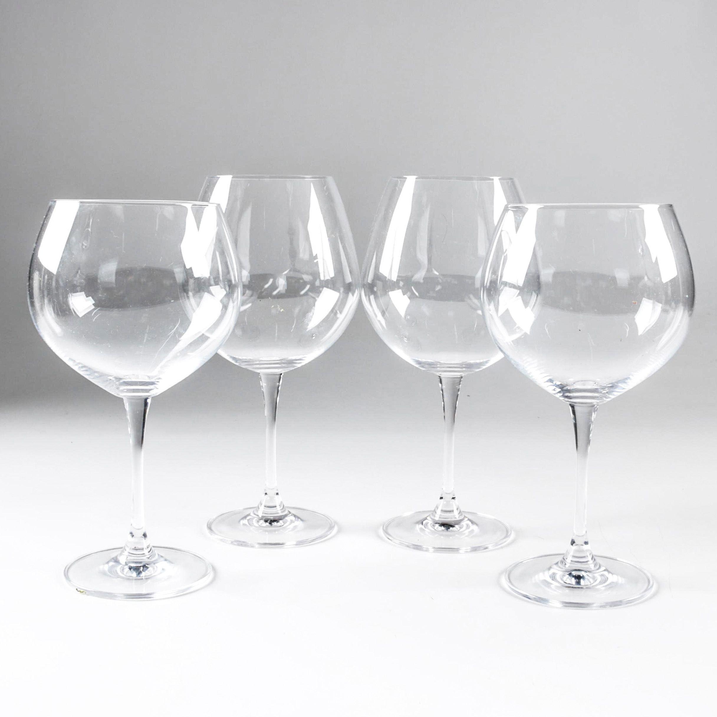 "Waterford Crystal ""Robert Mondavi"" Wine Glasses"