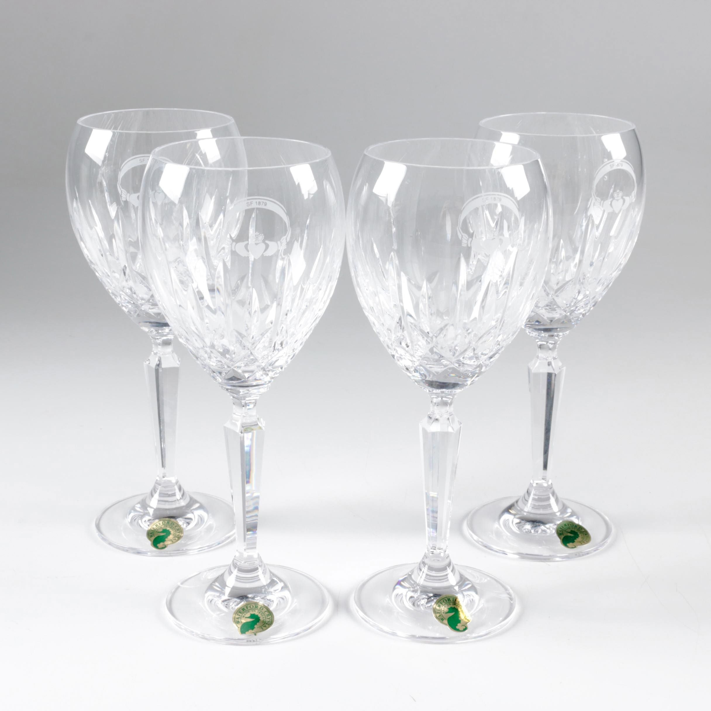 "Waterford Crystal ""Mourne"" Water Goblets"