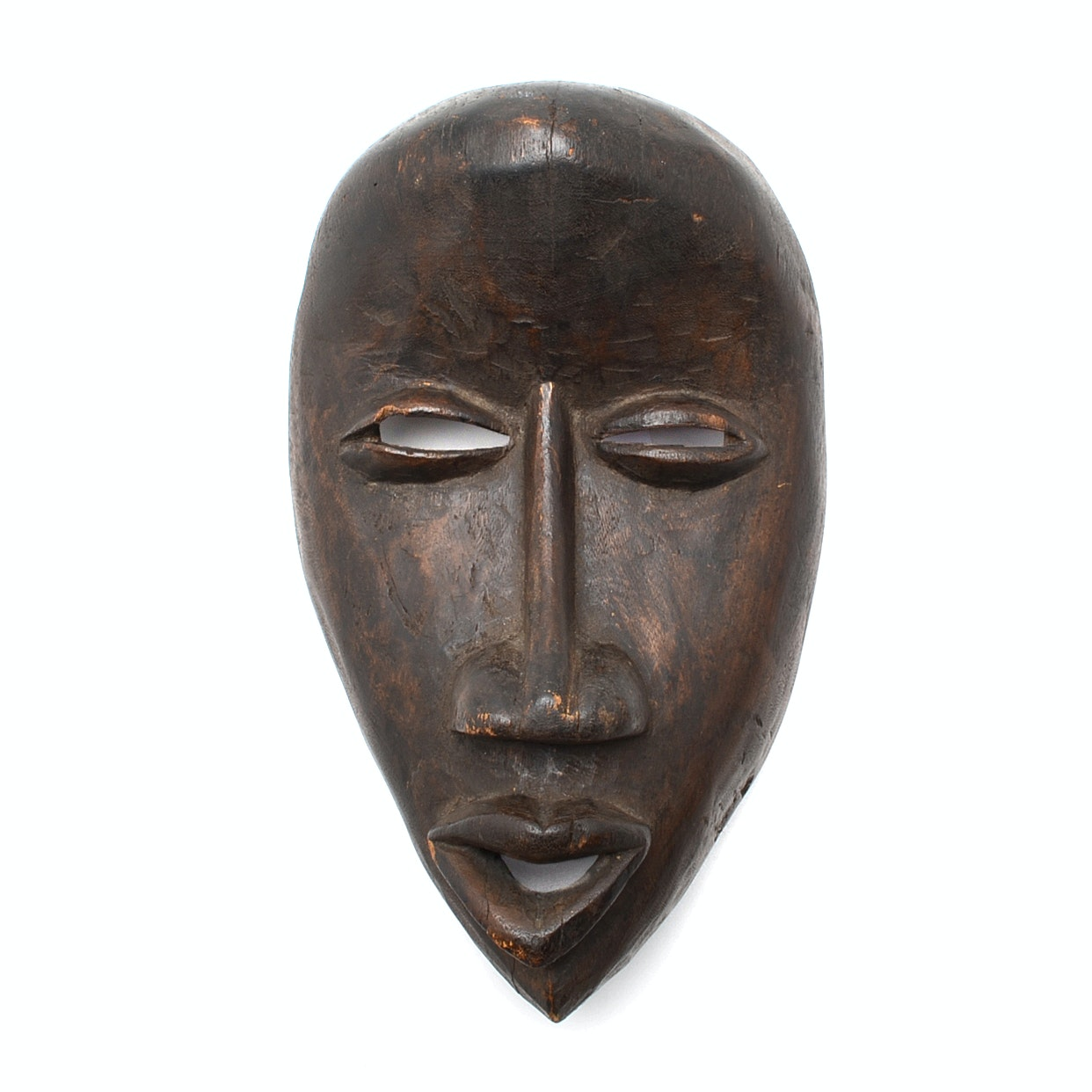 Circa 1900 Nigerian Igbo Carved Mask