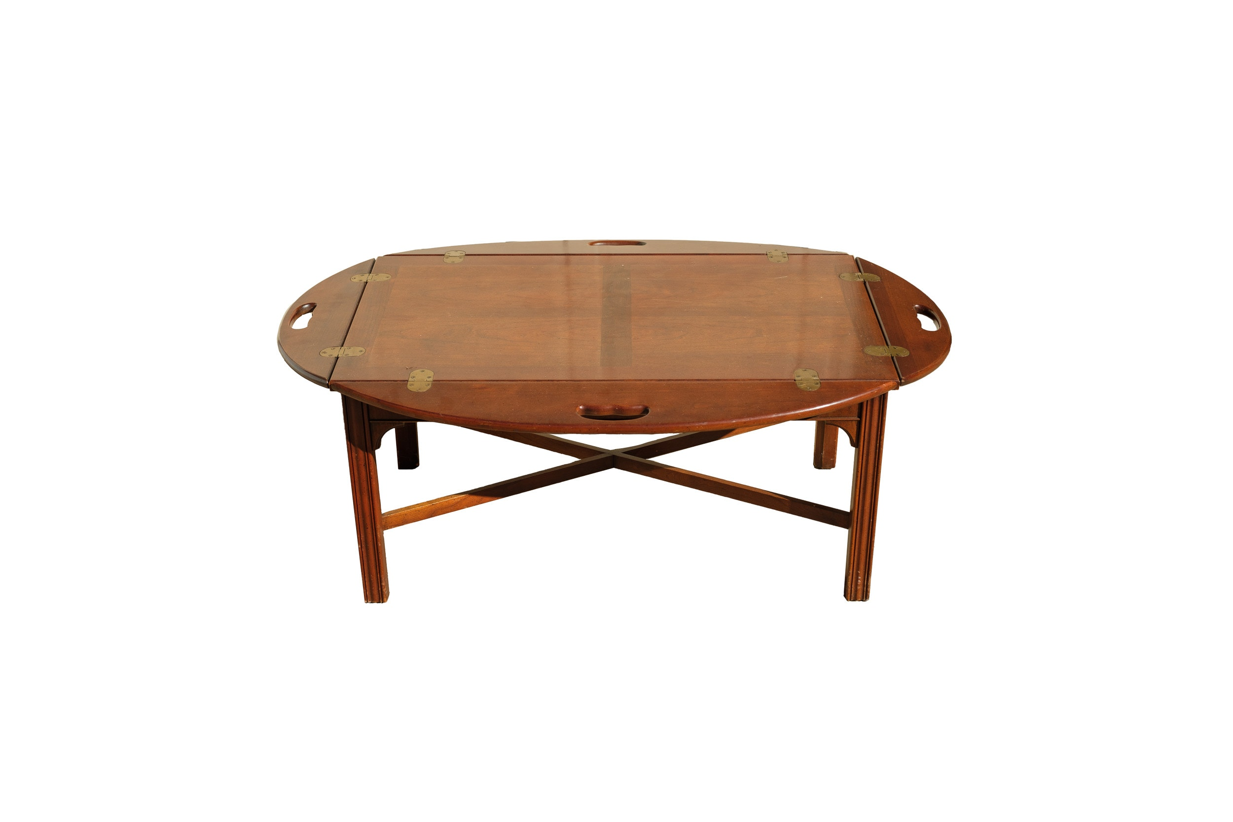 Chippendale Style Butler's Coffee Table