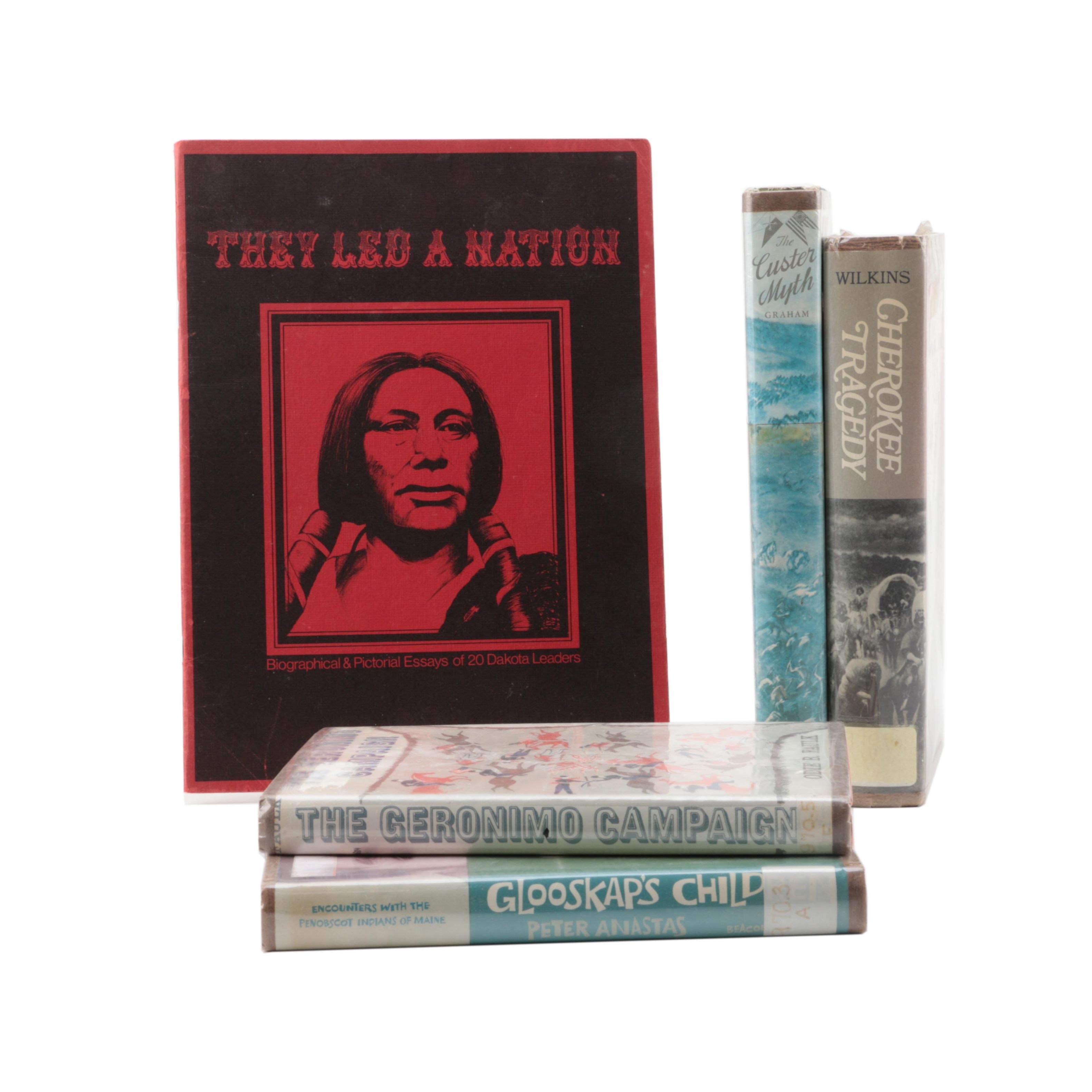 "1969 ""The Geronimo Campaign"" and Other Books on Native American History"