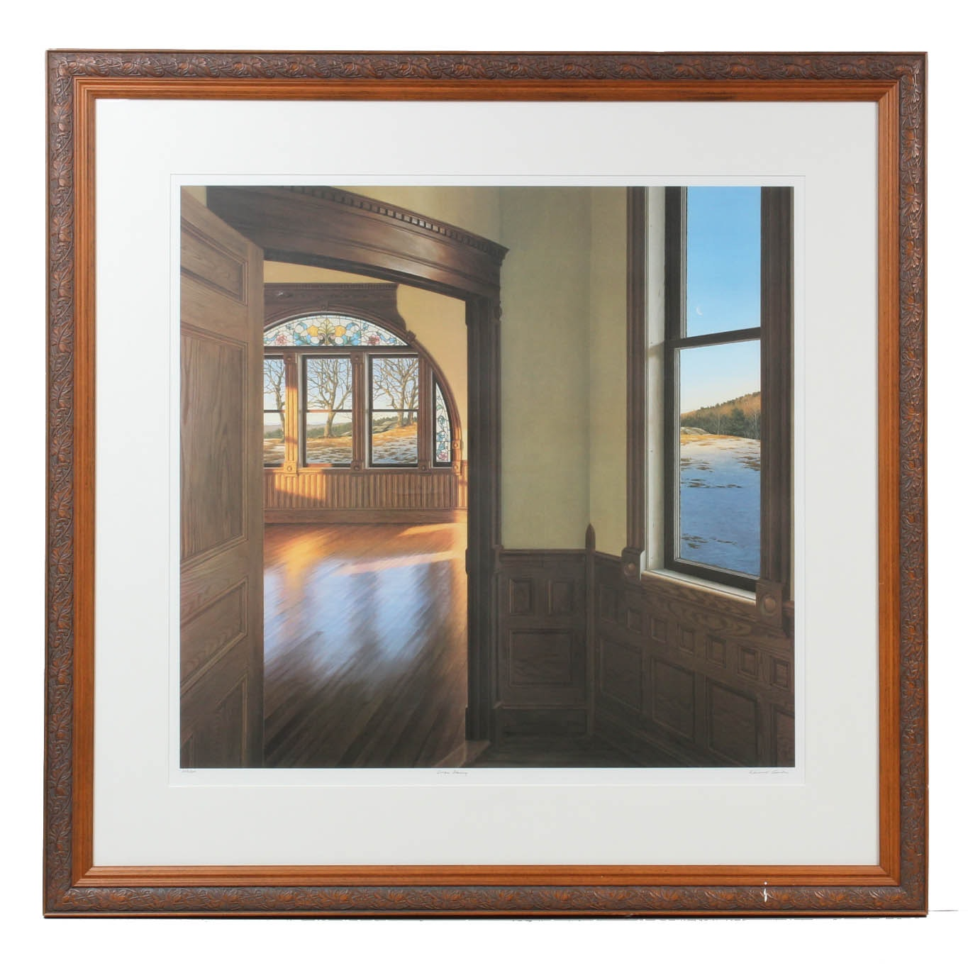 "Edward Gordon Serigraph ""Dream Dancing"""