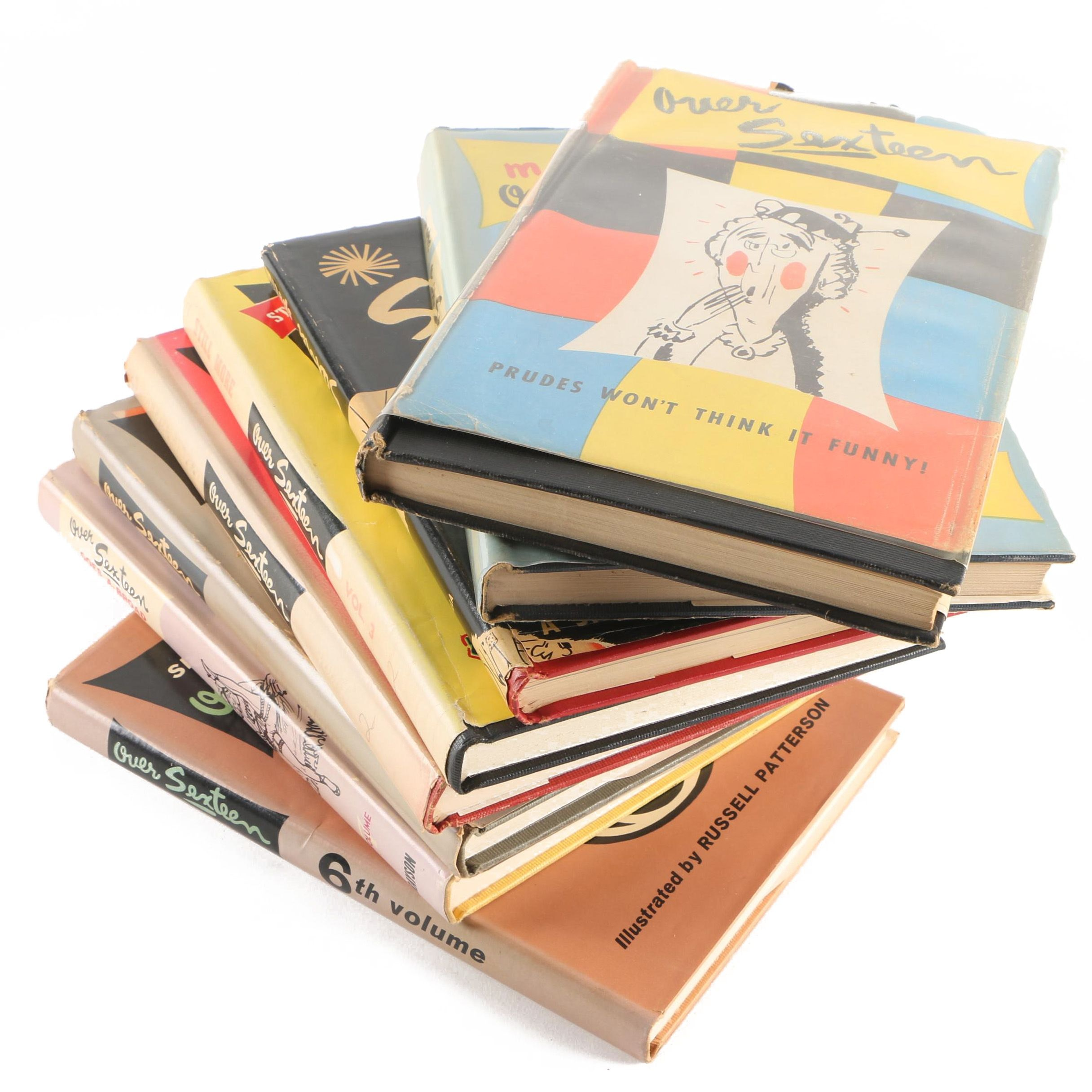 "1950s-1960s ""Sexteen"" Joke and Cartoon Books by J.M. Elgart"