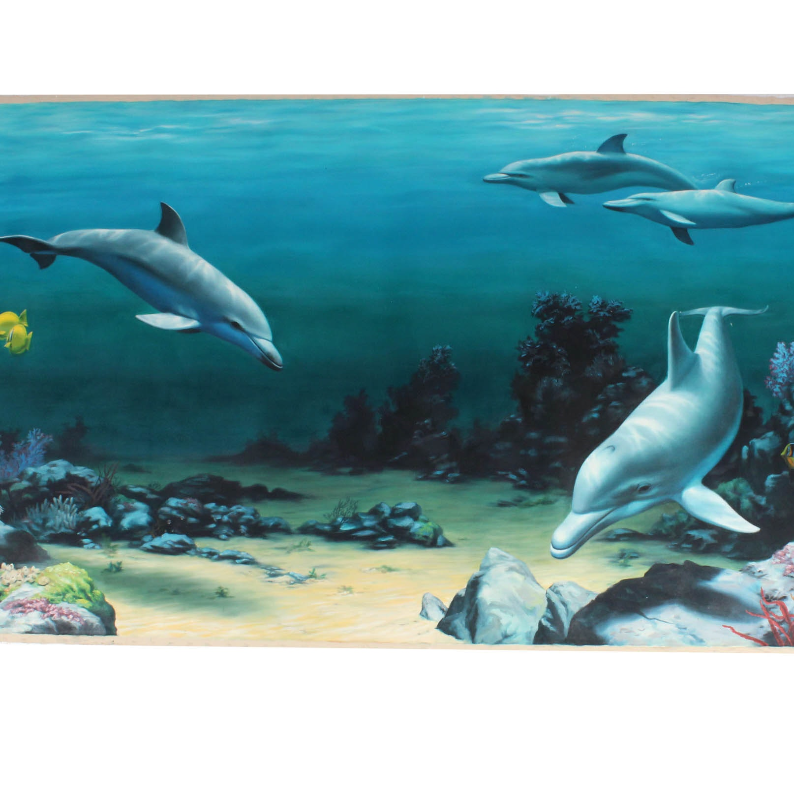 "J. Brian Townsend ""Underwater Tropical Fish"" Mural"