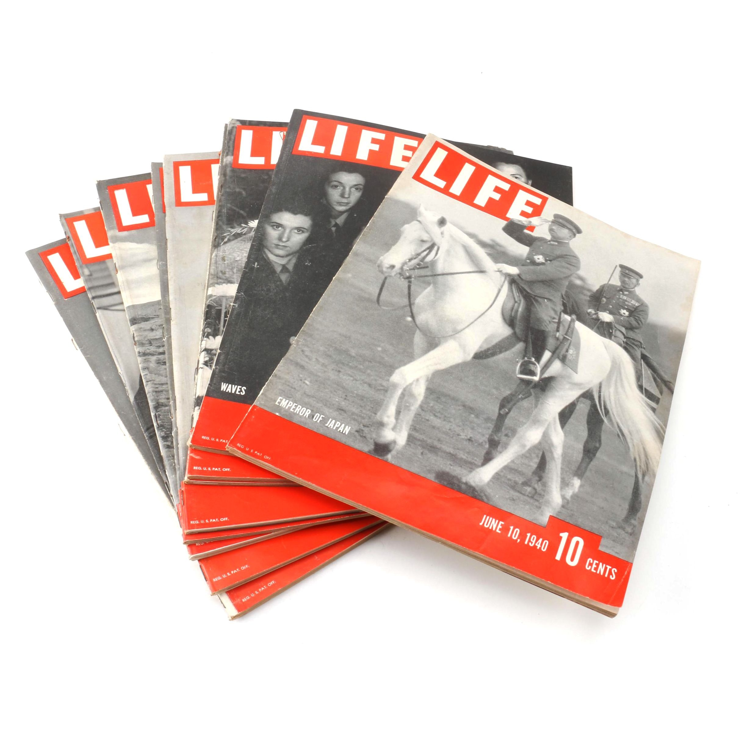 "1940-1943 ""Life"" Magazines"