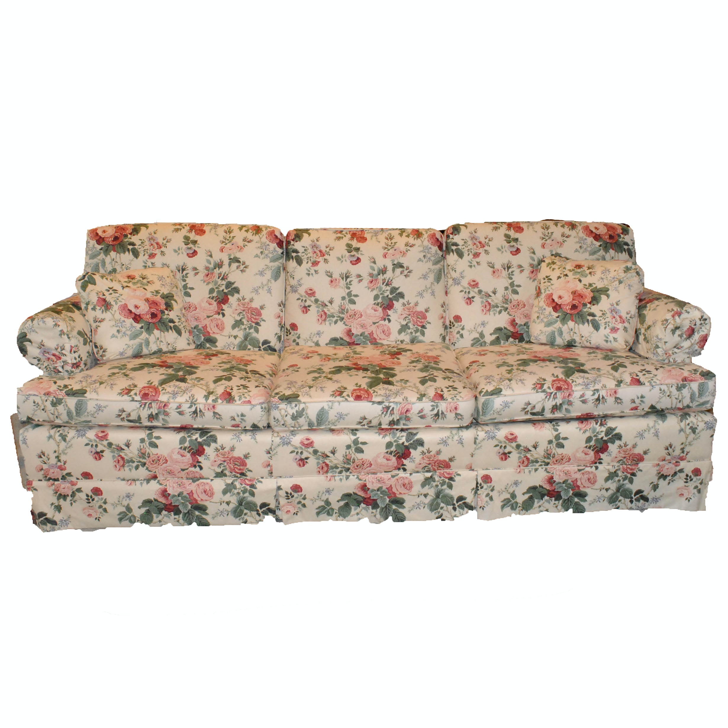 Floral Chintz Sofa by Fairfield