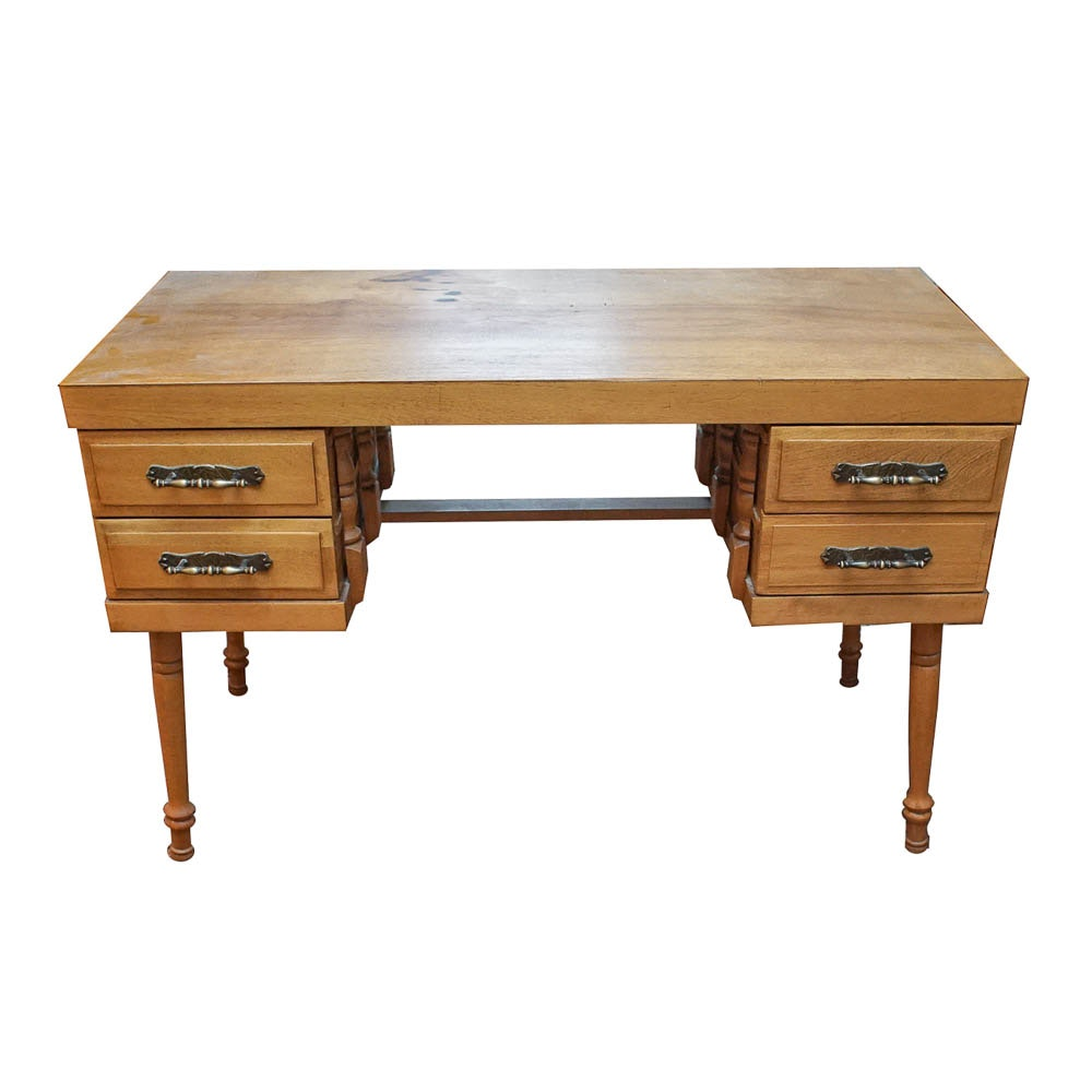 Mid-Century Kneehole Desk