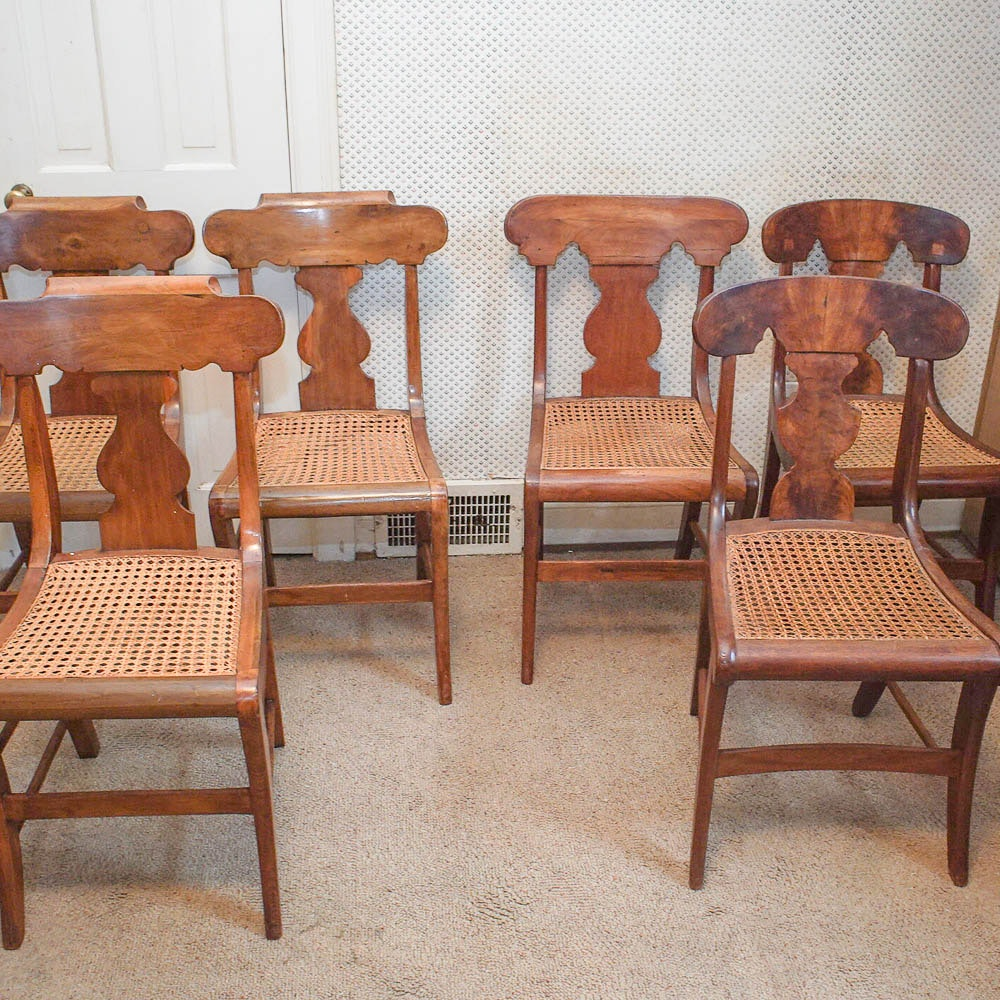 Dining Chairs with Cane Seats