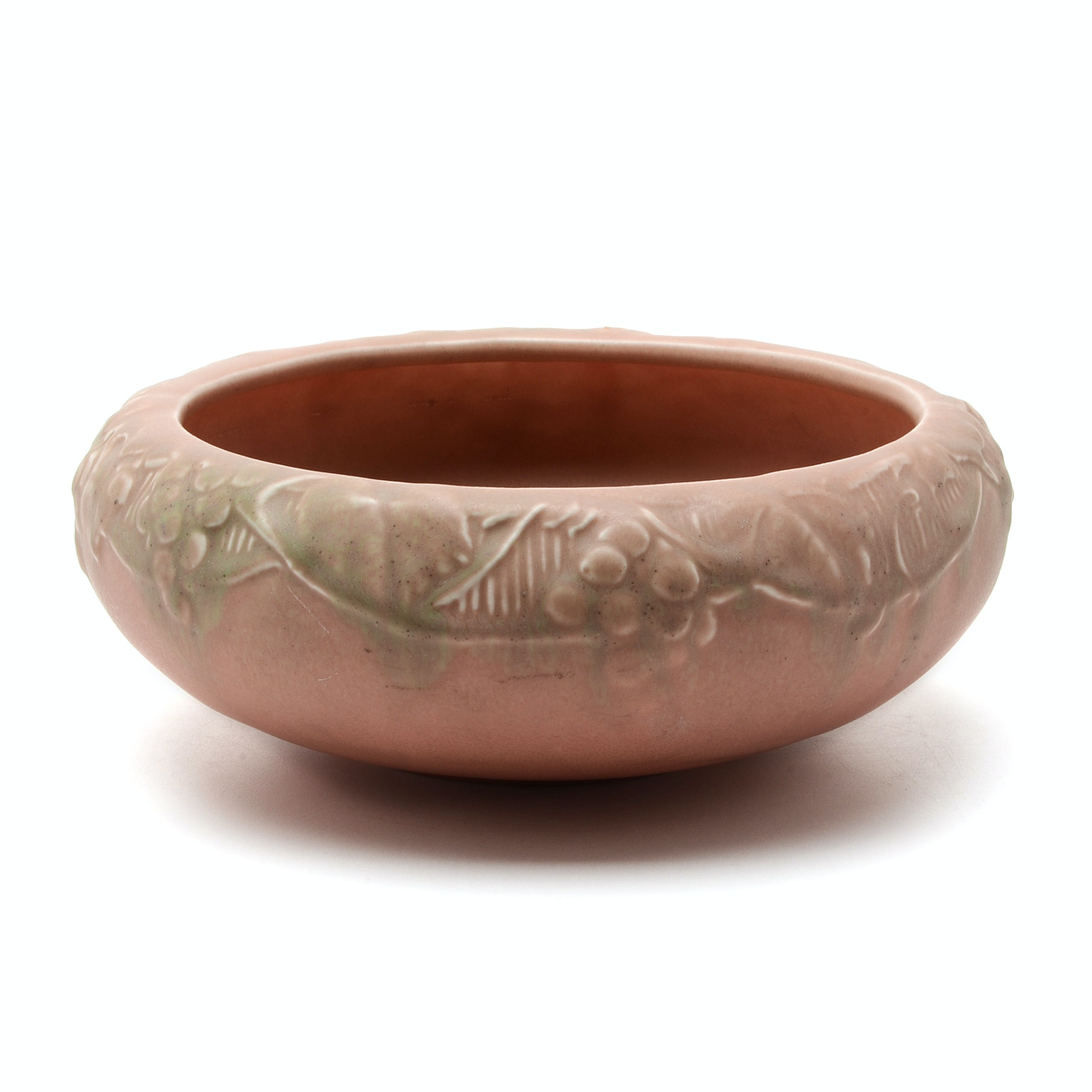 1927 Rookwood Console Bowl with Grape Motif