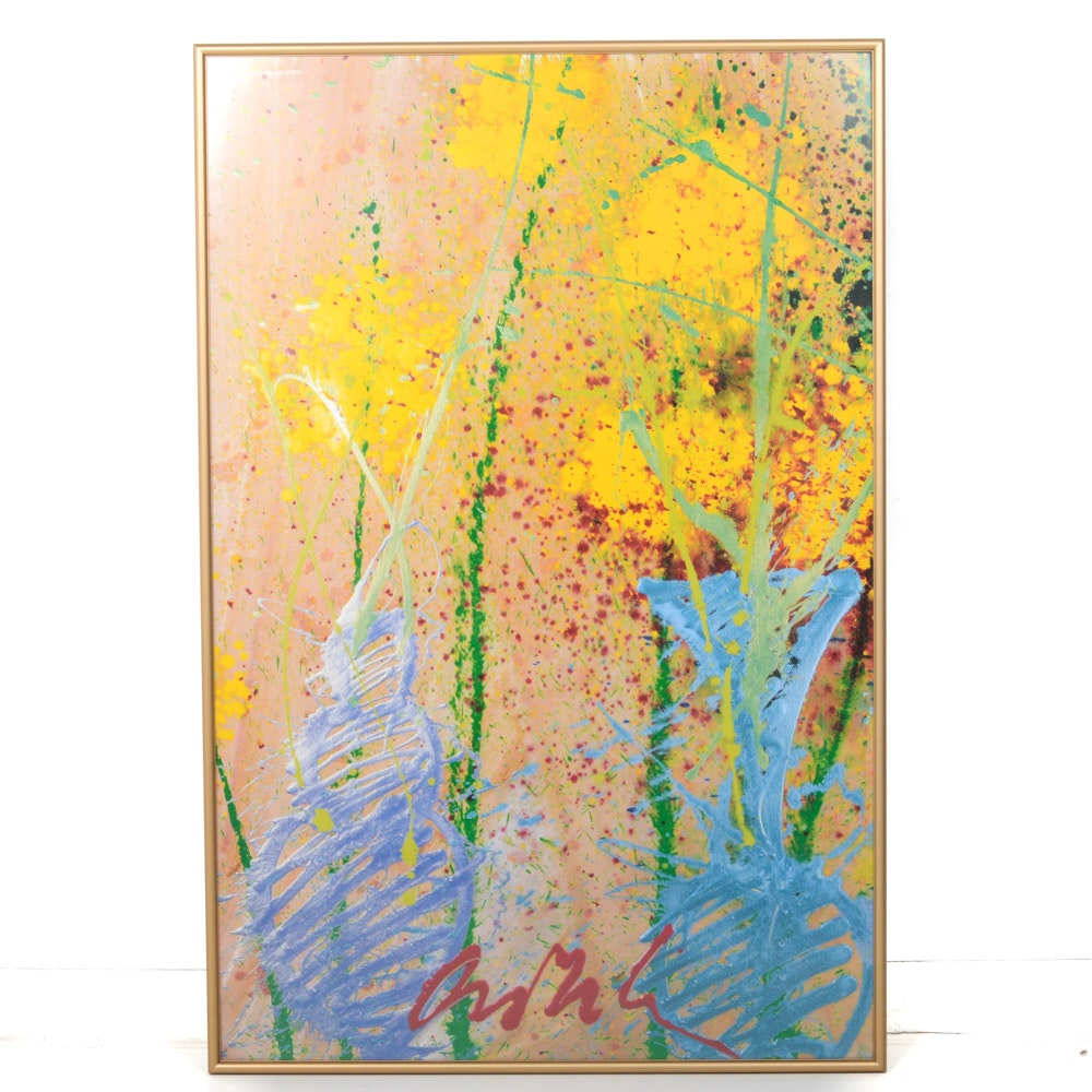 Dale Chihuly Offset Lithograph Poster