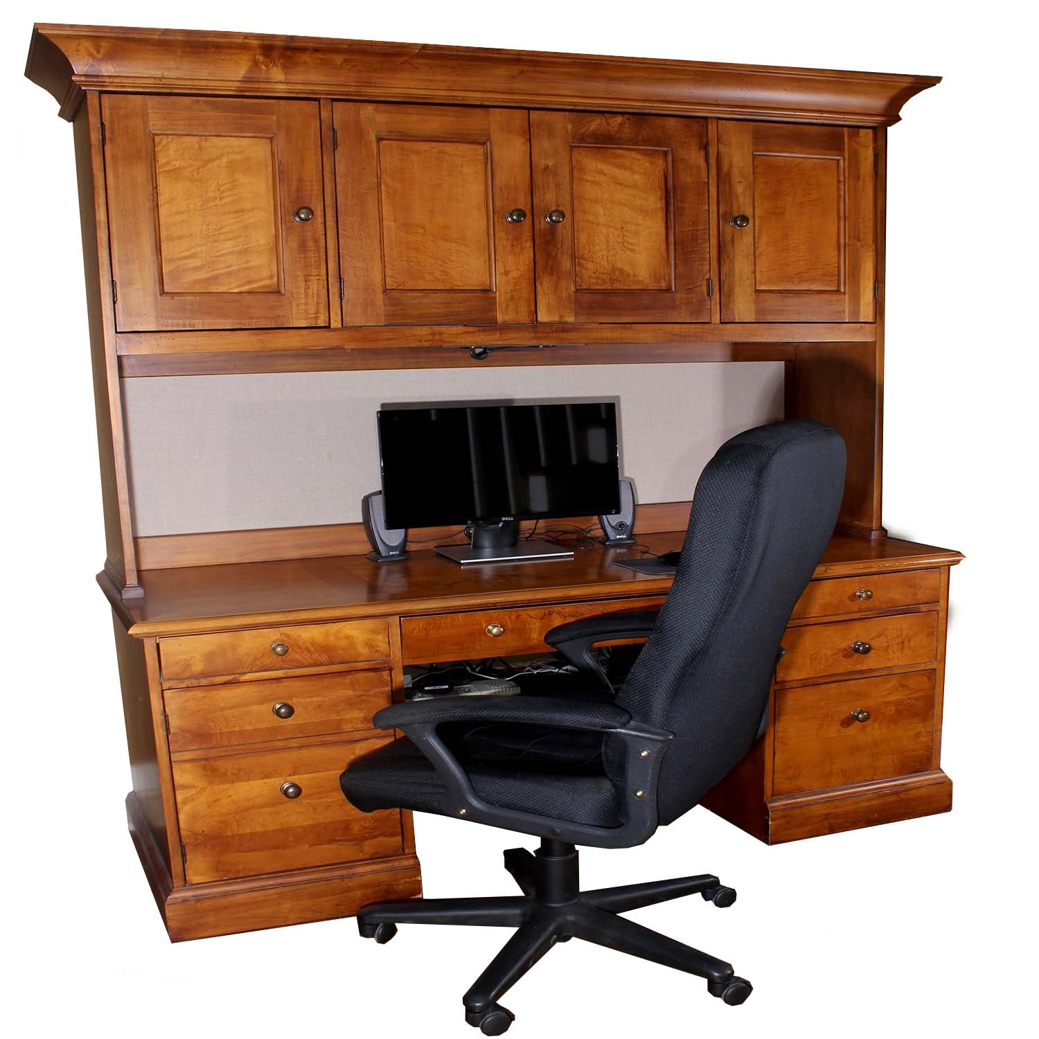 Romweber Two Piece Desk and Executive Office Chair