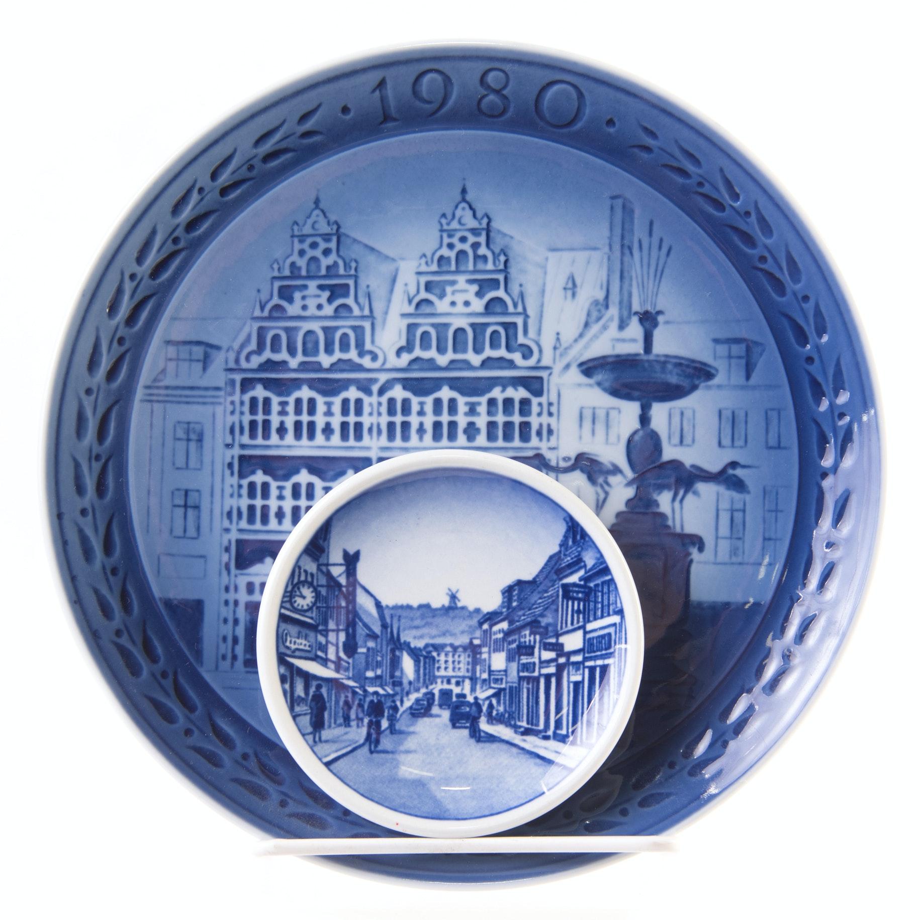 Vintage Royal Copenhagen Plates