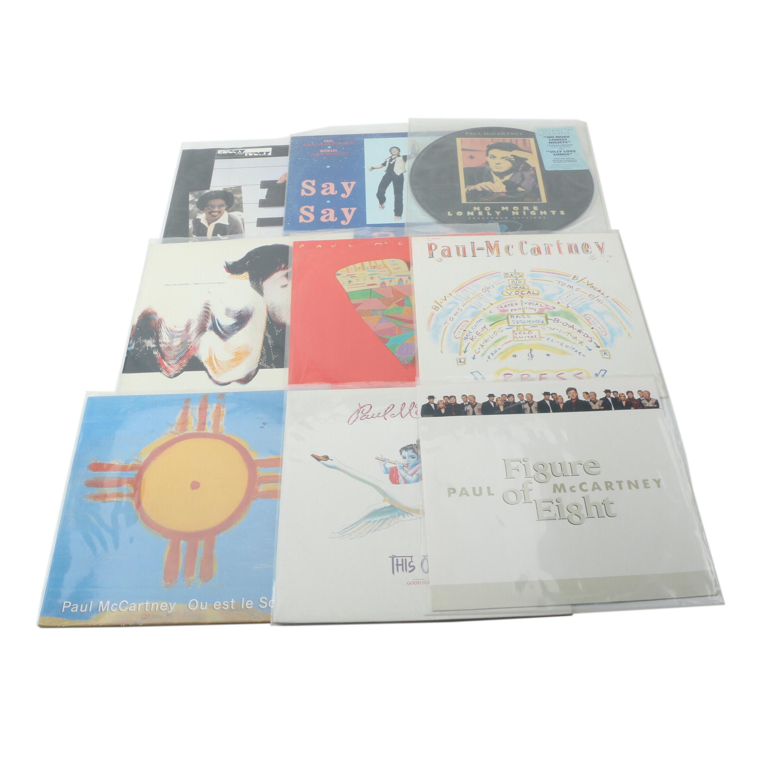 "Paul McCartney 12"" Singles Records"
