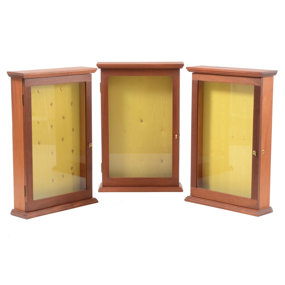 Group of Display Cabinets