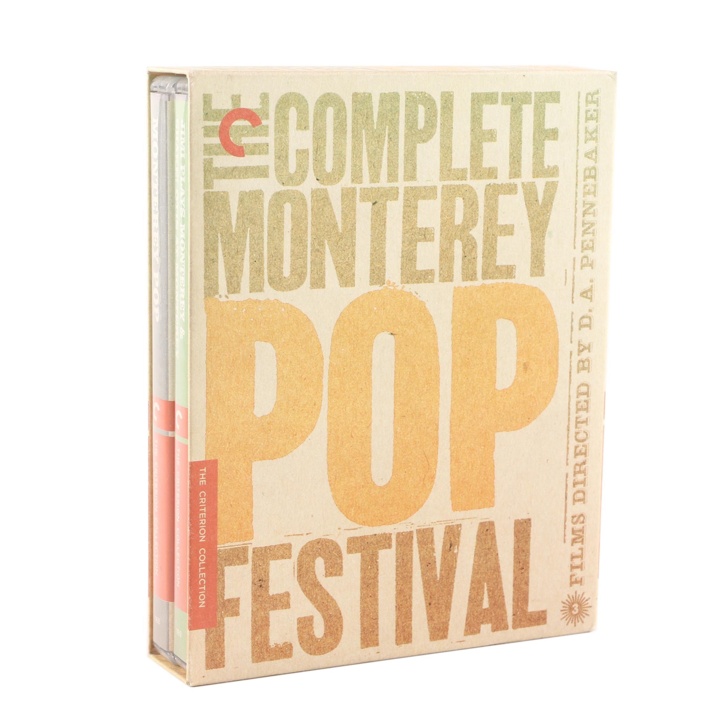 """The Complete Monterey Pop Festival"" Blu-Ray Box Set"