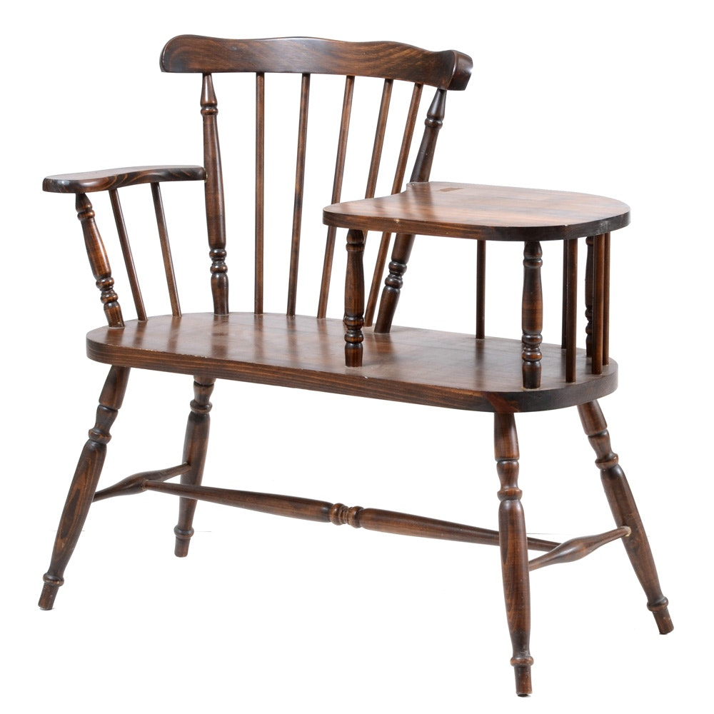 Windsor Style Writing Armchair