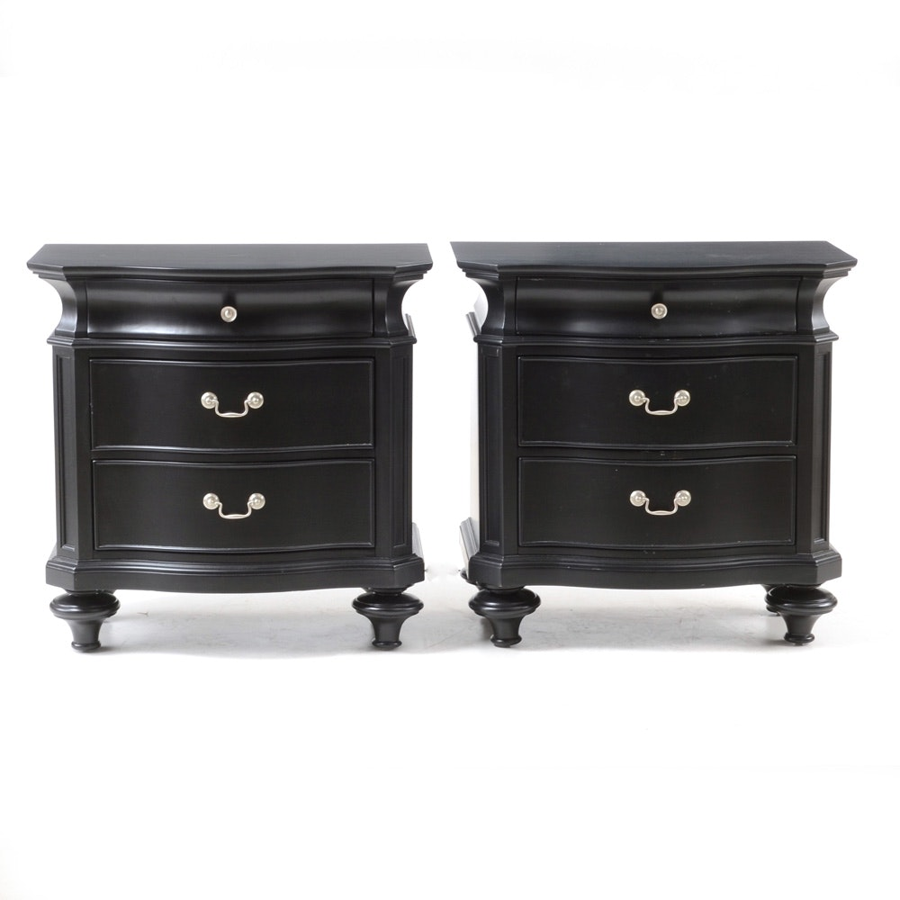 Contemporary French Provincial Style Nightstands