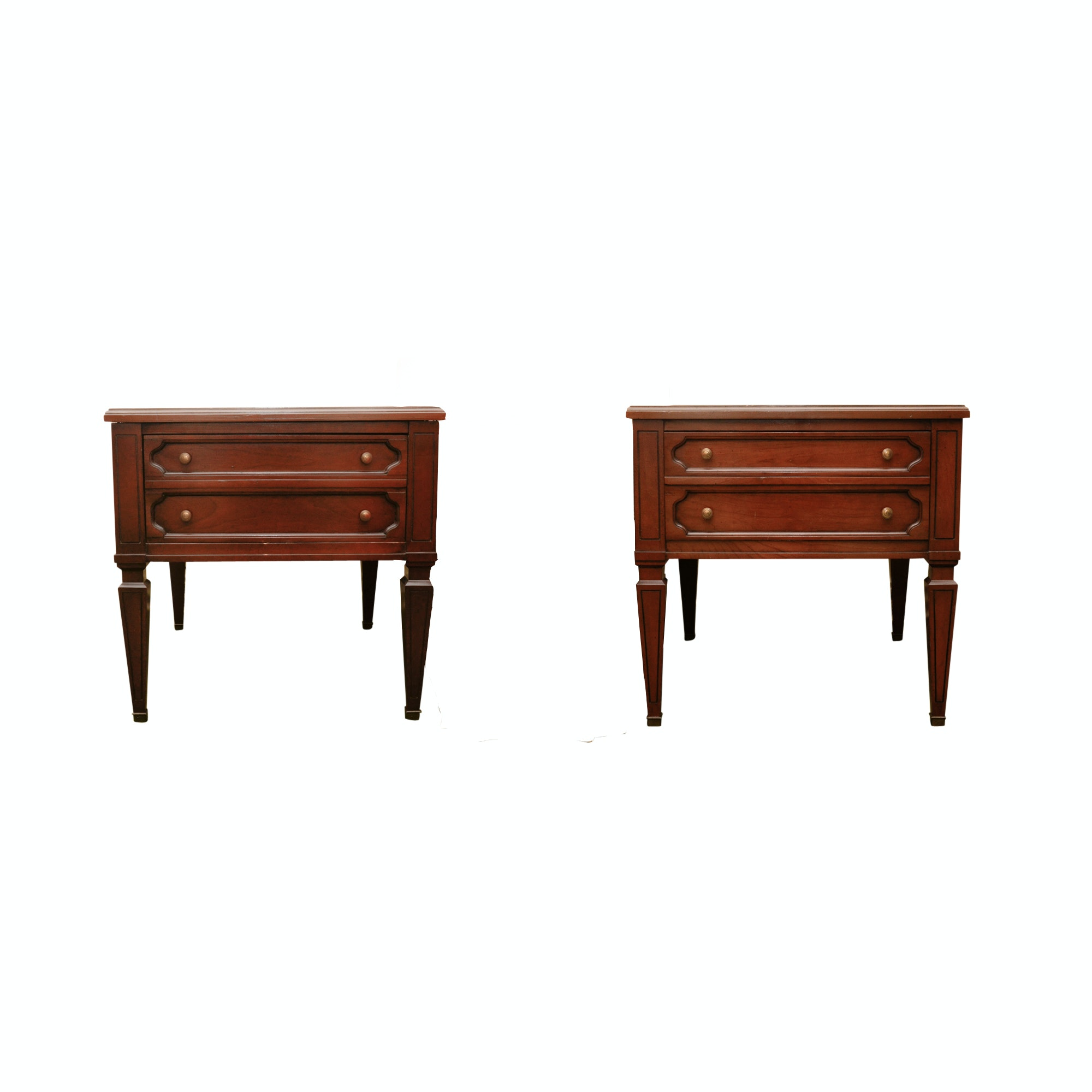 Pair of Mid Century End Tables by Mazor Masterpiece