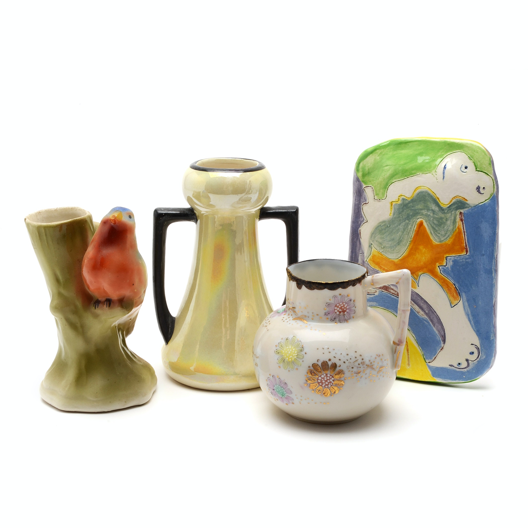 Vintage  Ceramic, Porcelain, Pottery and Glass Decorative Items