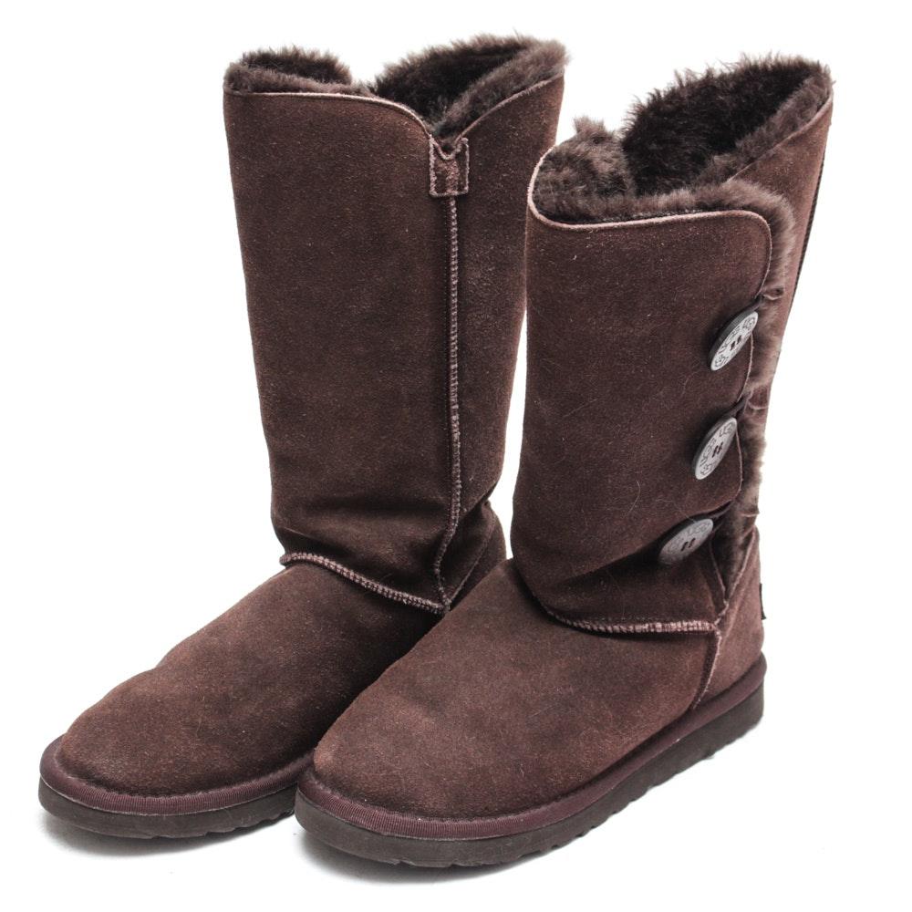 Women's UGG Bailey Button Sheepskin Boots