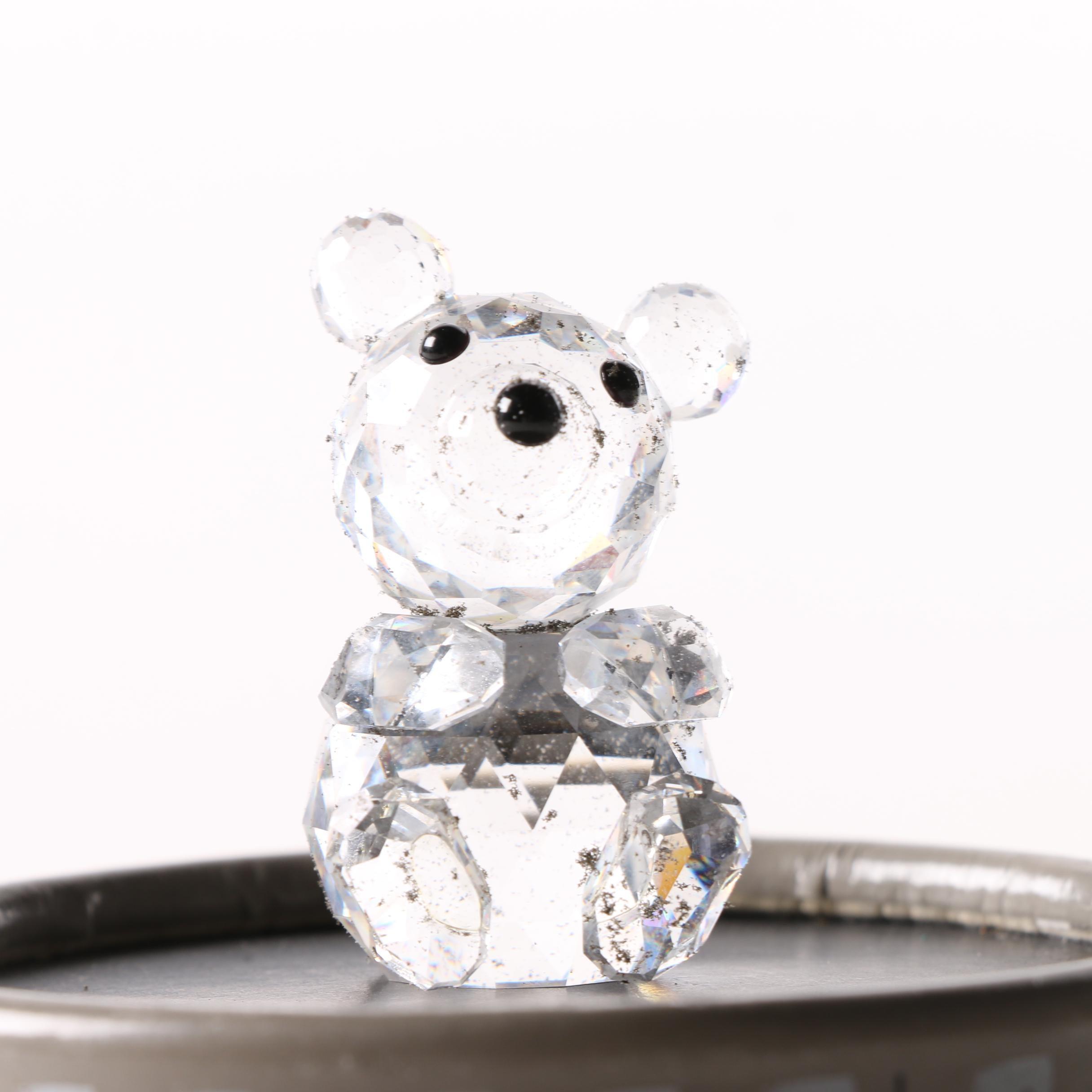 Swarovski Crystal Bear Figurine