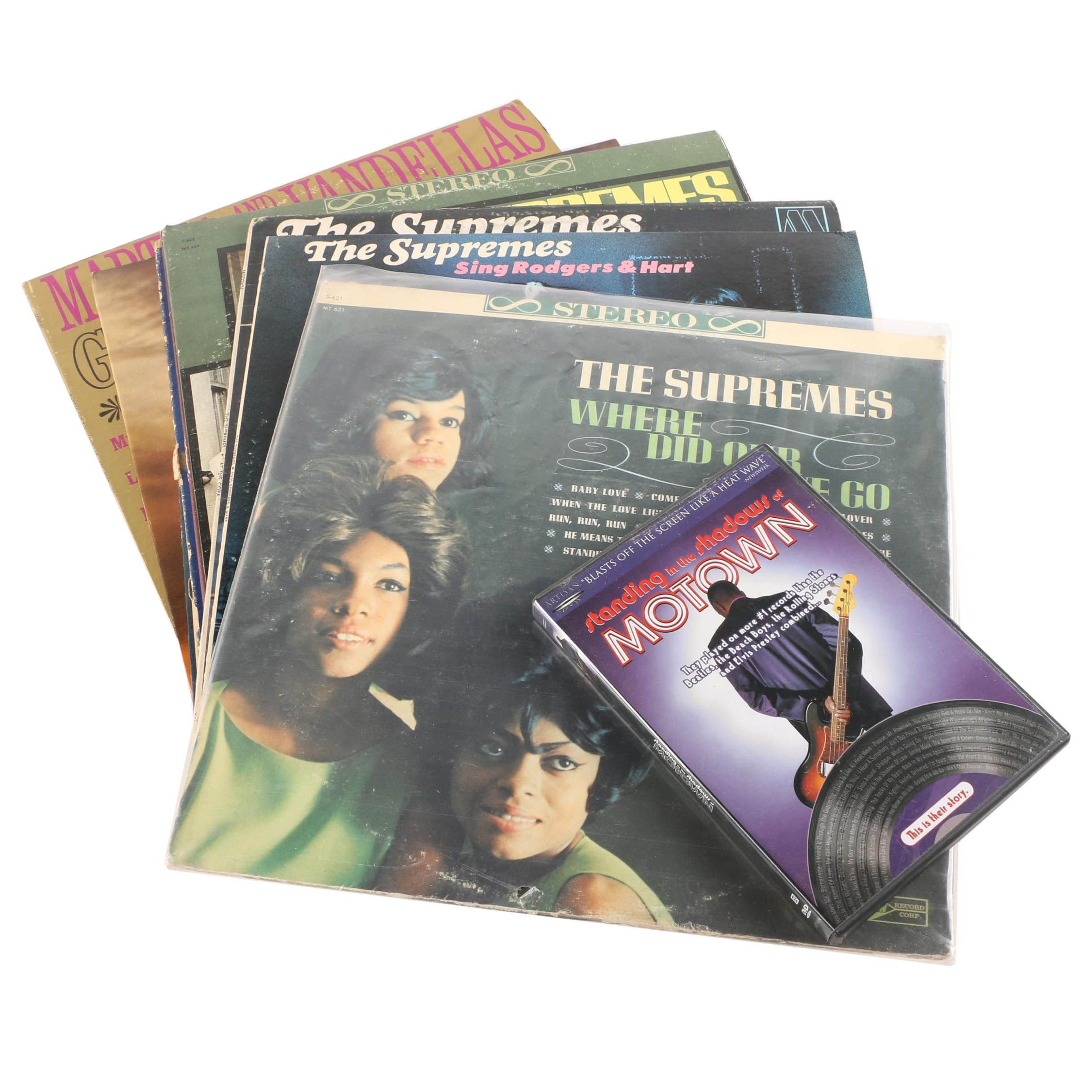 Motown Records and DVD Including The Supremes, The Miracles, The Four Tops