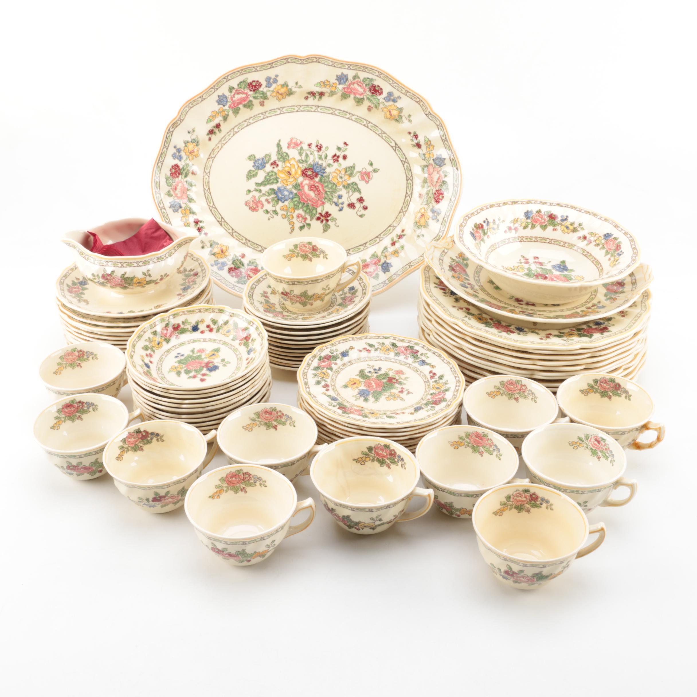 "Vintage Royal Doulton ""The Cavendish"" Porcelain Tableware"