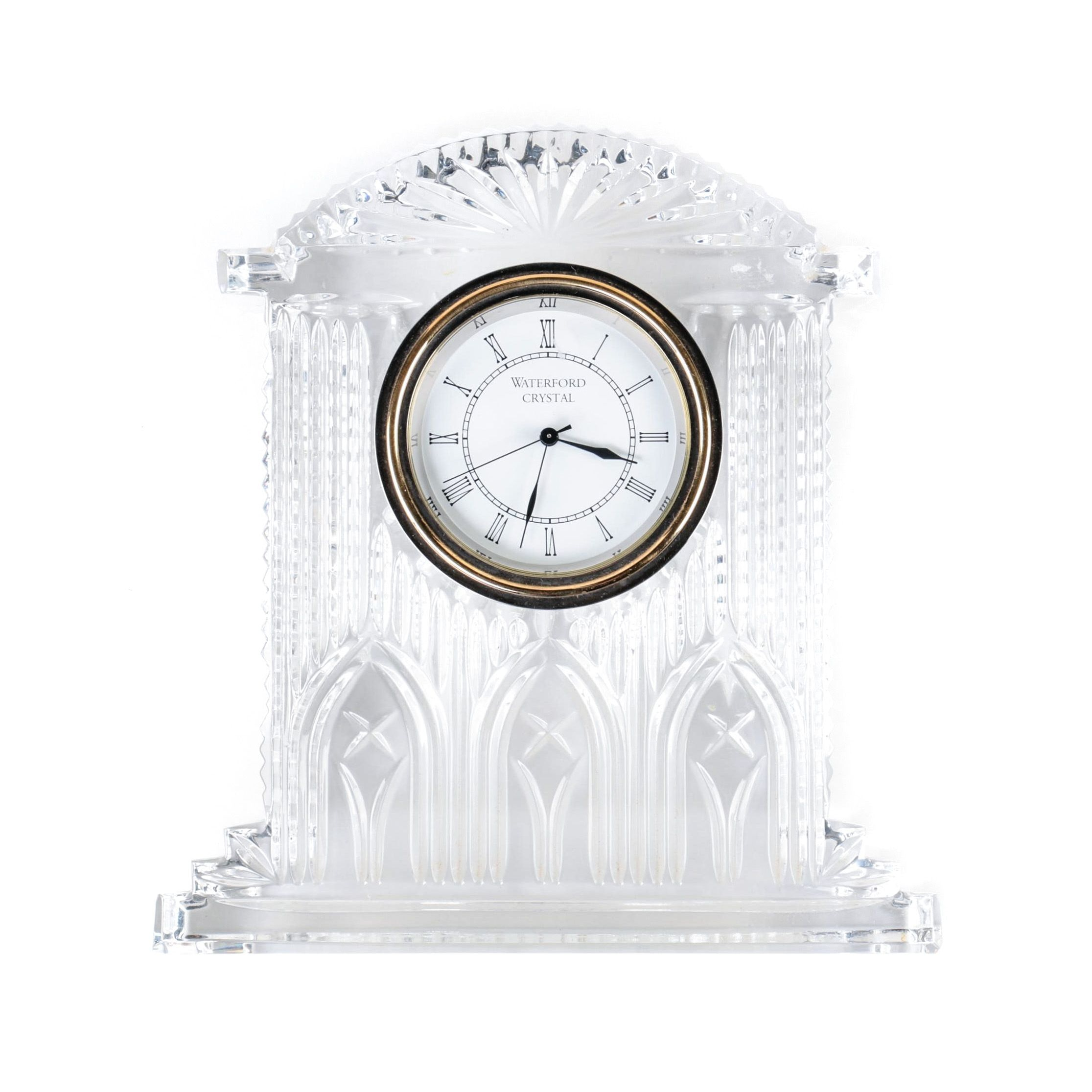 "Waterford Crystal ""Westminster"" Quartz Clock"