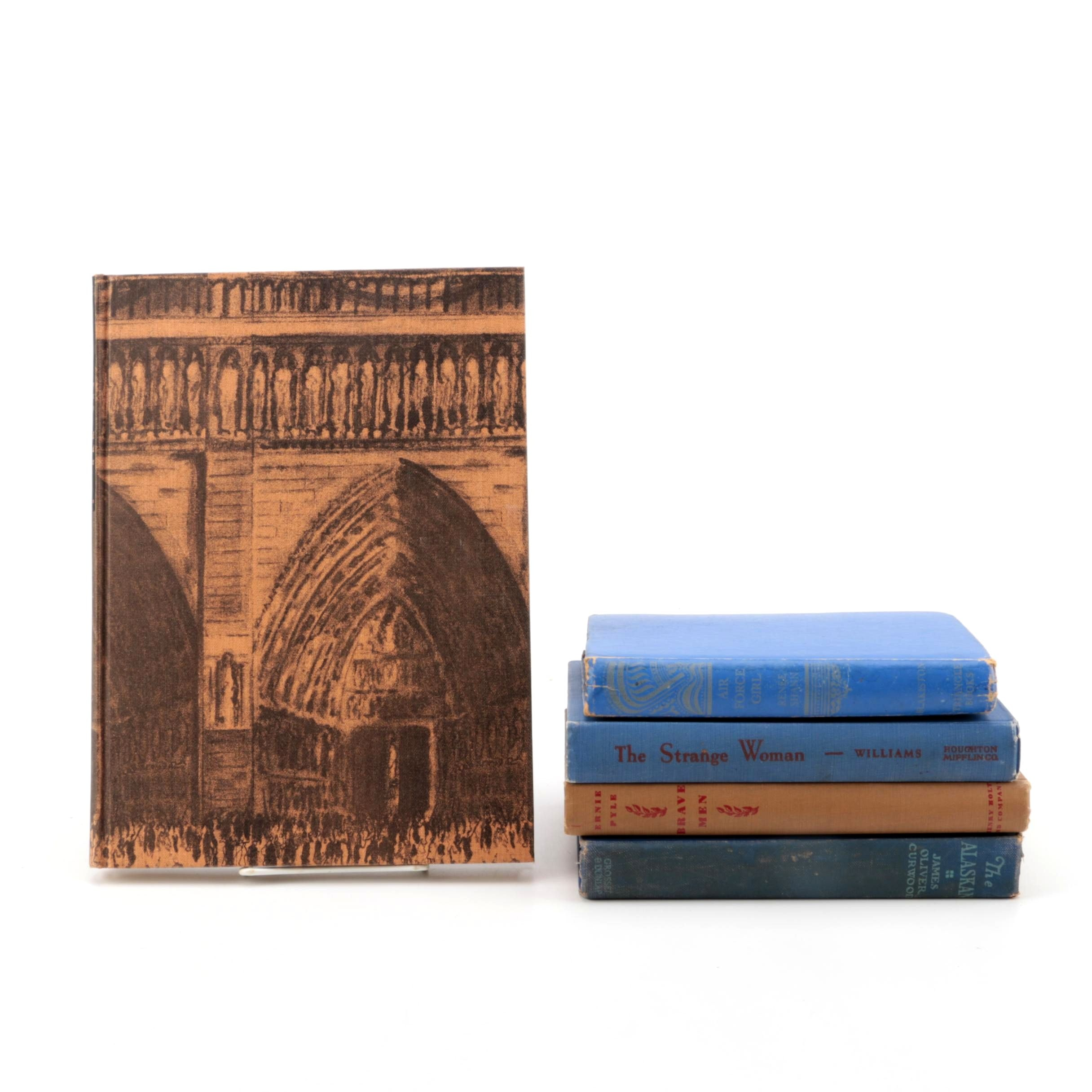 "Assorted Novels including Heritage Press Edition of ""Notre-Dame de Paris"""
