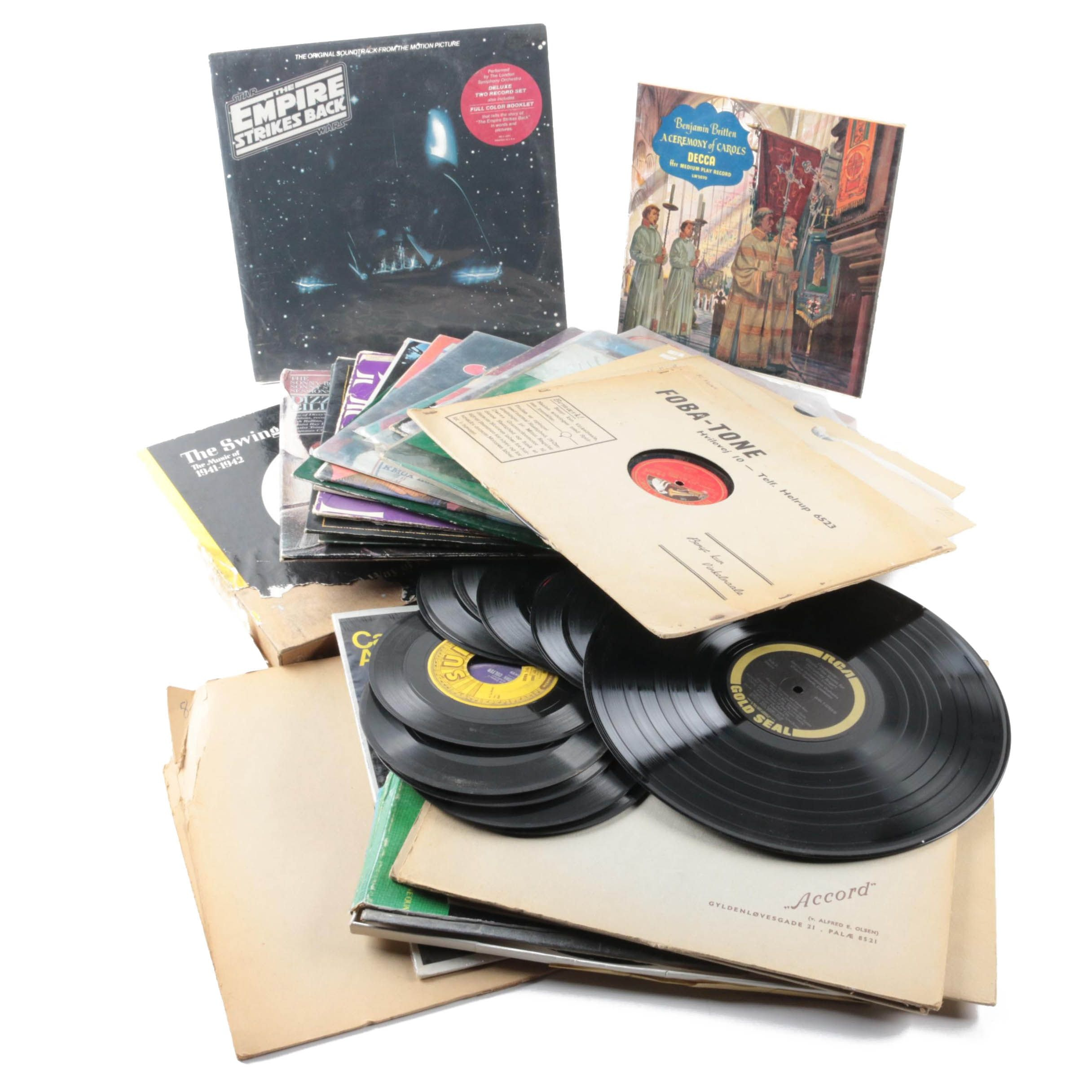 Tchaikovsky, Cannonball Adderley Quintet, National Lampoon, and Other Records