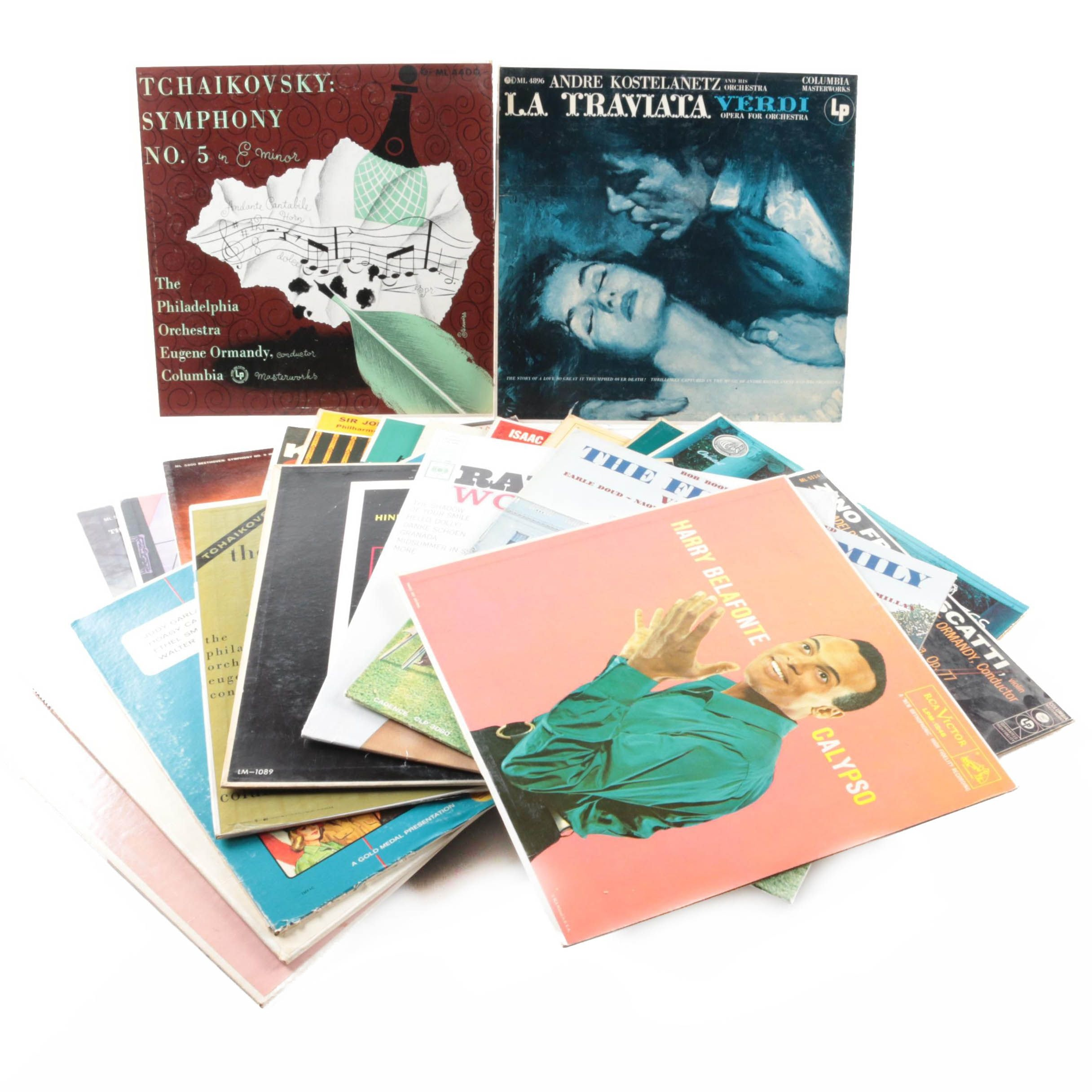 Harry Belafonte, Ray Conniff, The Philadelphia Orchestra, and Other Records