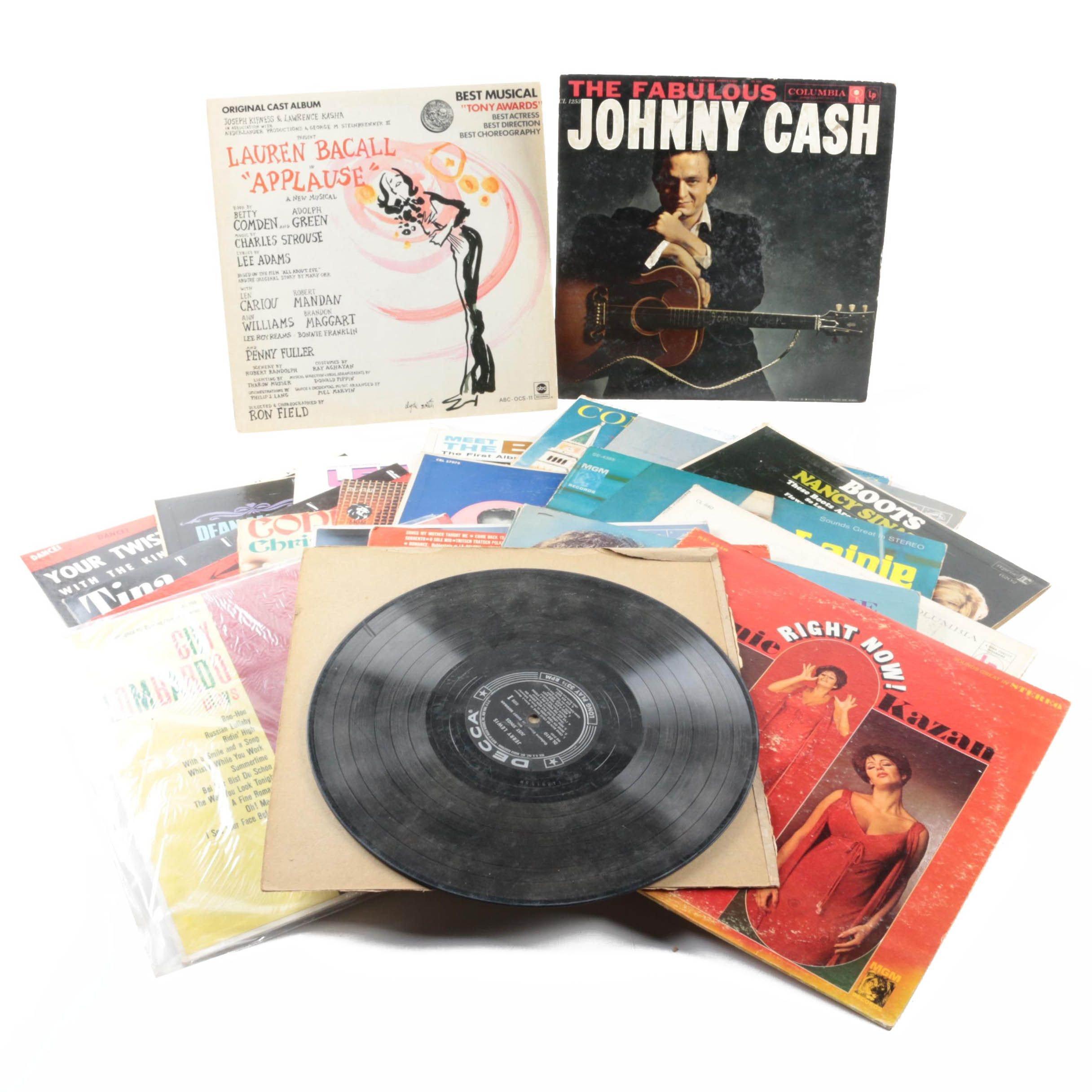 Beatles, Johnny Cash, Nancy Sinatra and Other Pop, Jazz and Soundtrack Records